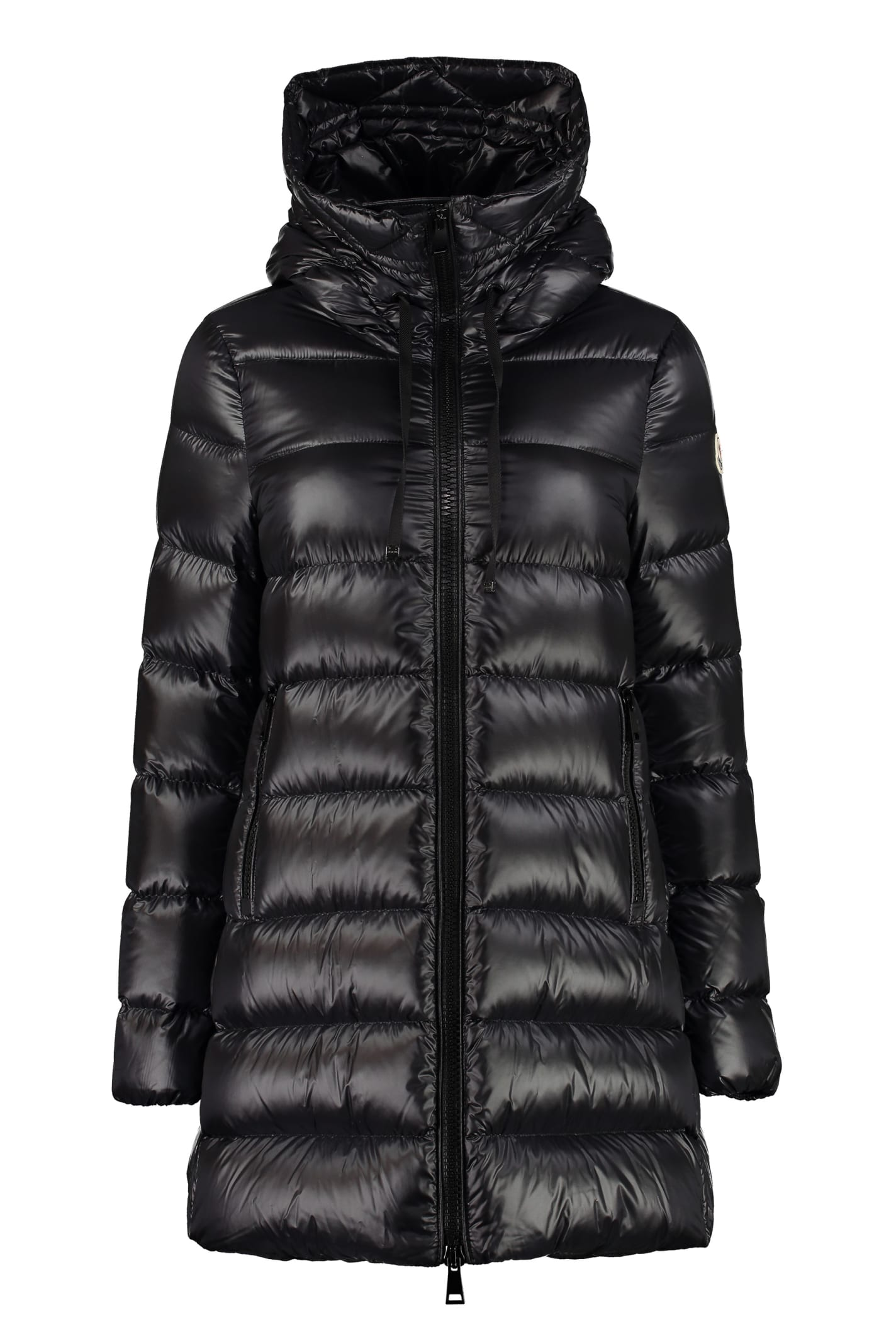 Moncler Suyen Full Zip Padded Hooded Jacket