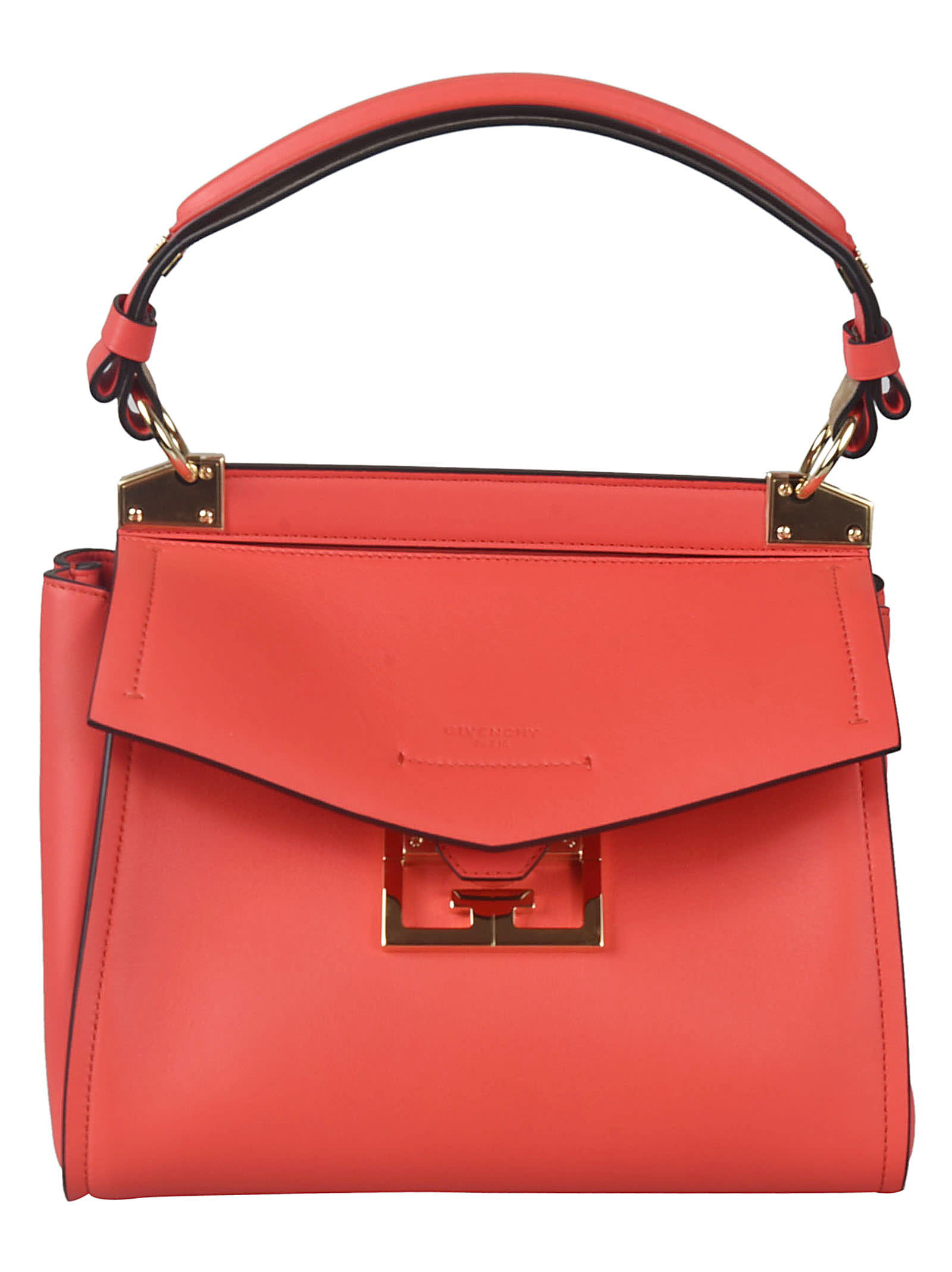 Givenchy Small Mystic Tote In Red