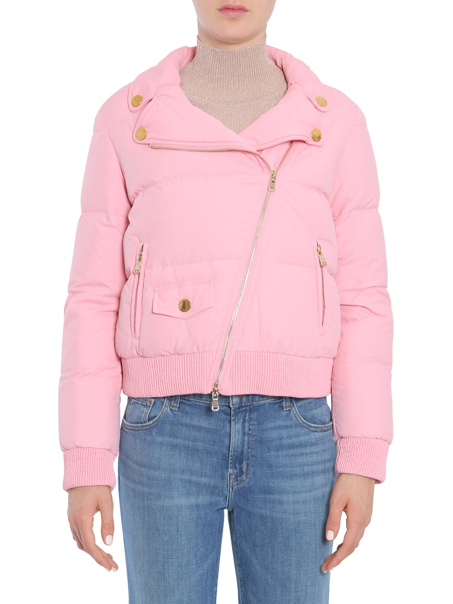 Boutique Moschino Quilted Down Jacket