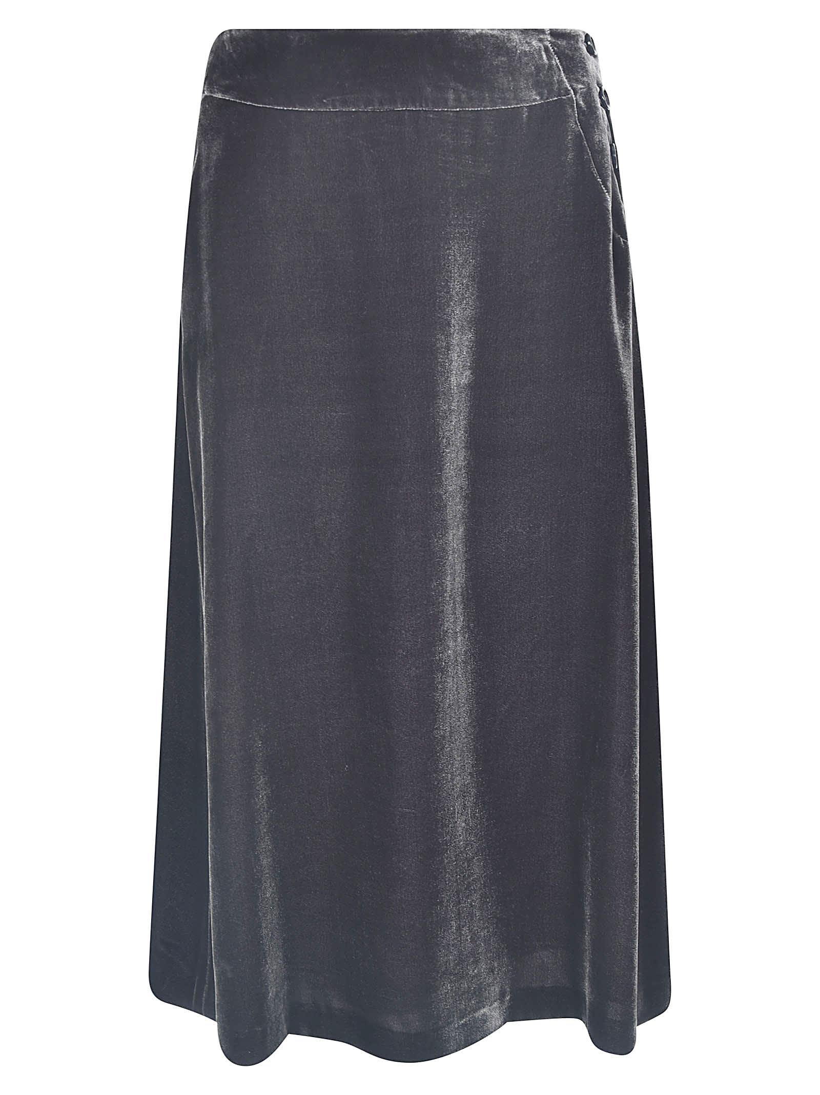 Aspesi Velluto Skirt
