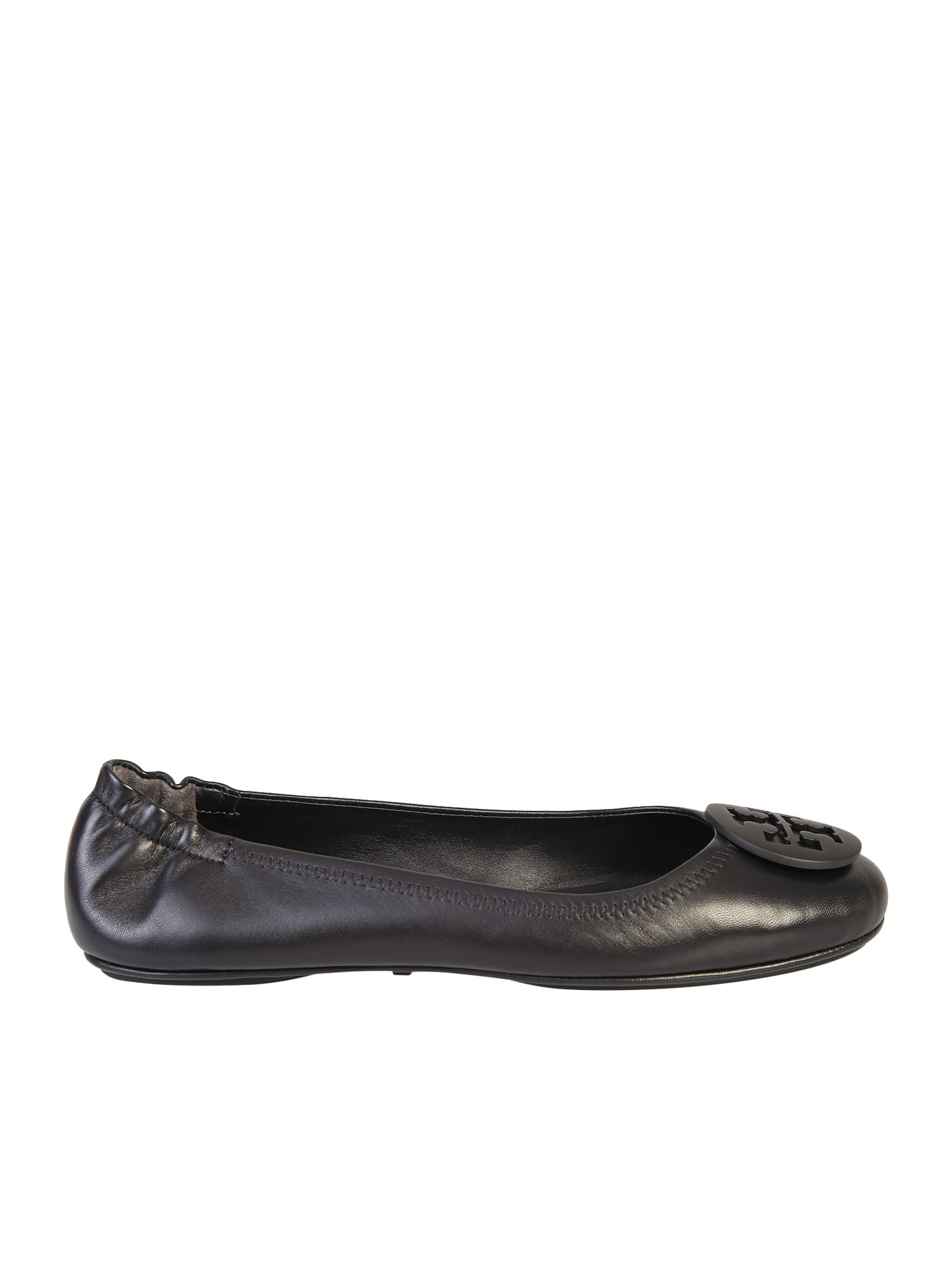 Buy Tory Burch Minnie Ballerina Flats online, shop Tory Burch shoes with free shipping