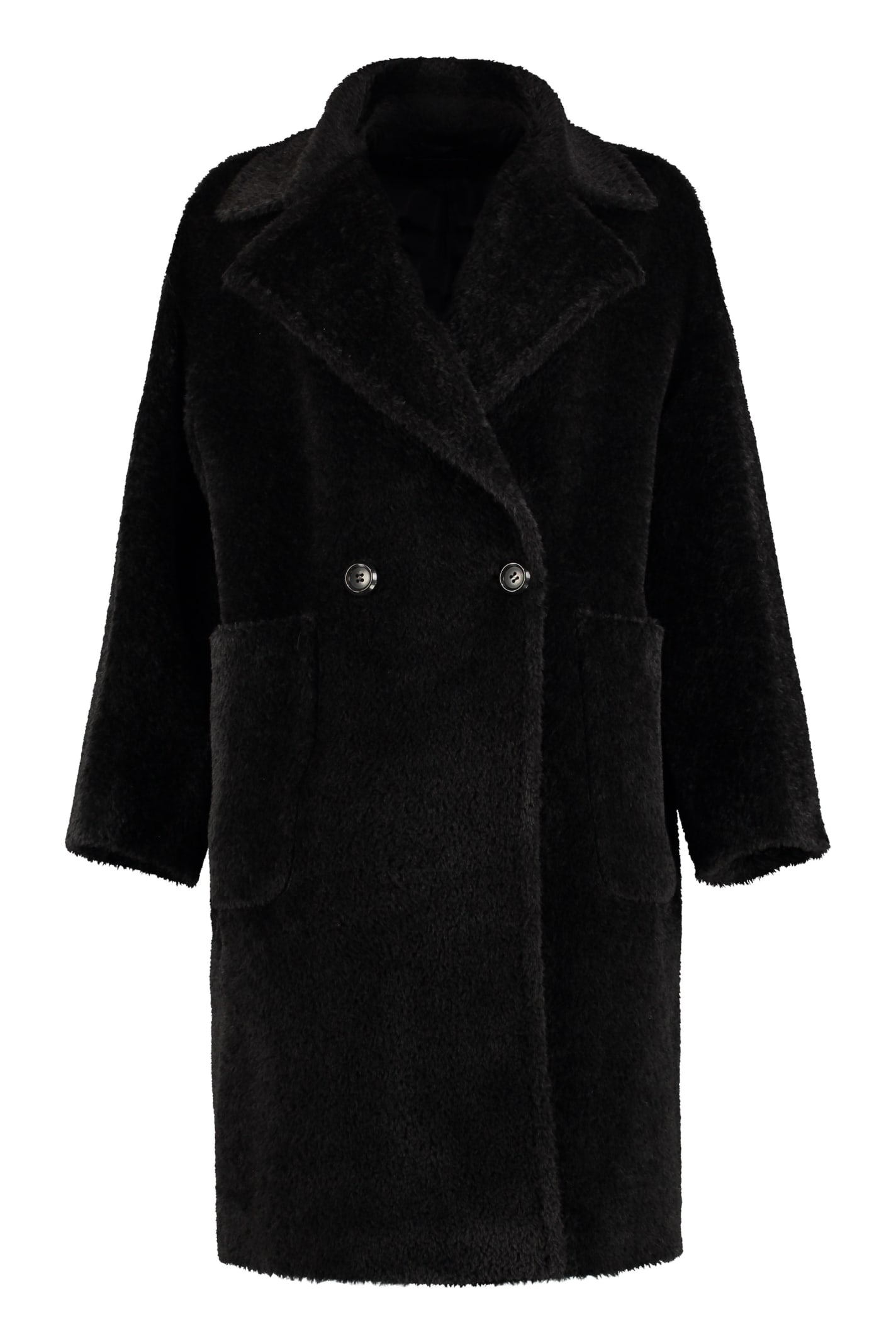 Max Mara Studio Pioggia Double-breasted Coat
