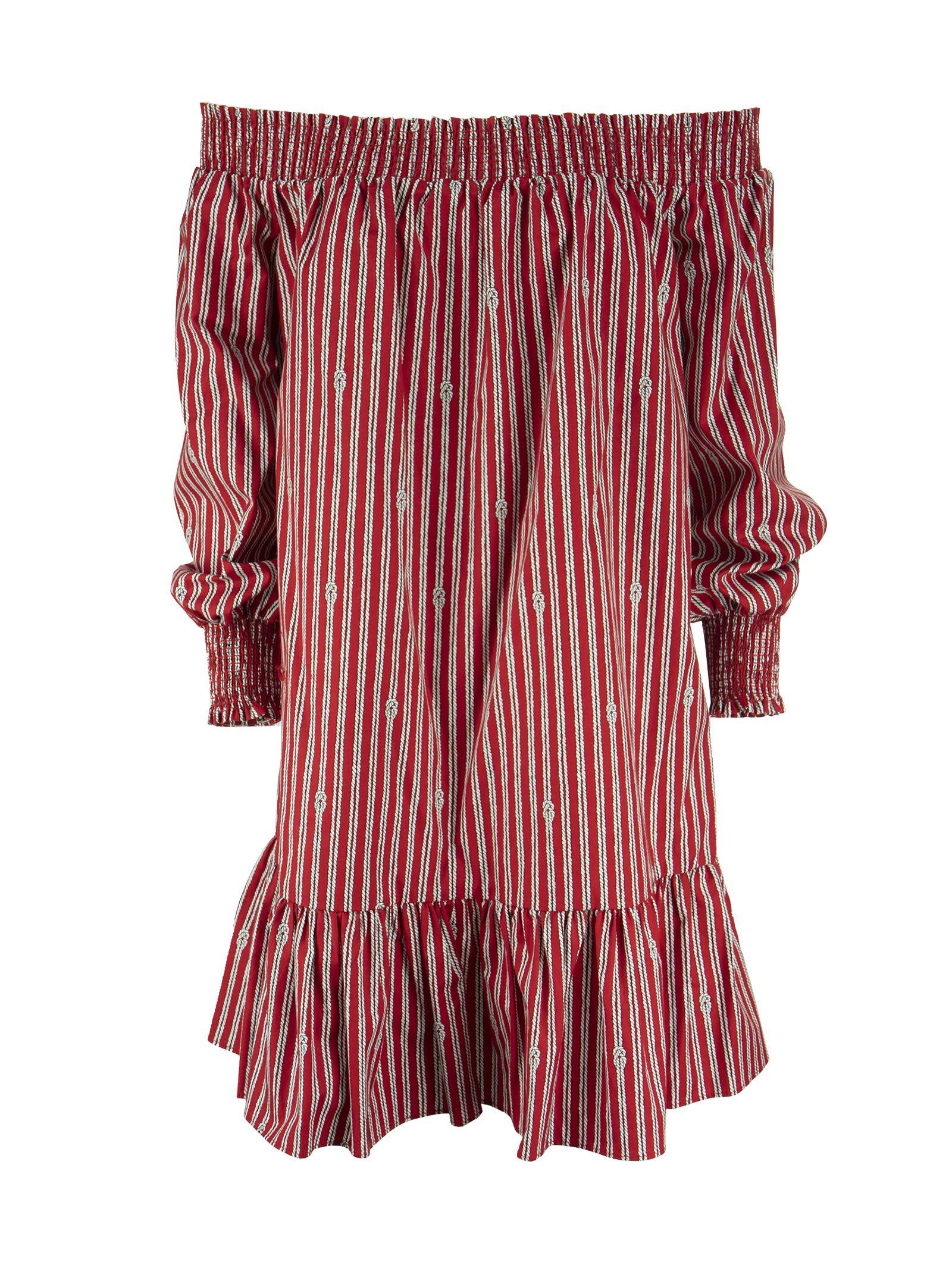 Michael Kors Sailor Knot Crimson – Short Cotton Dress