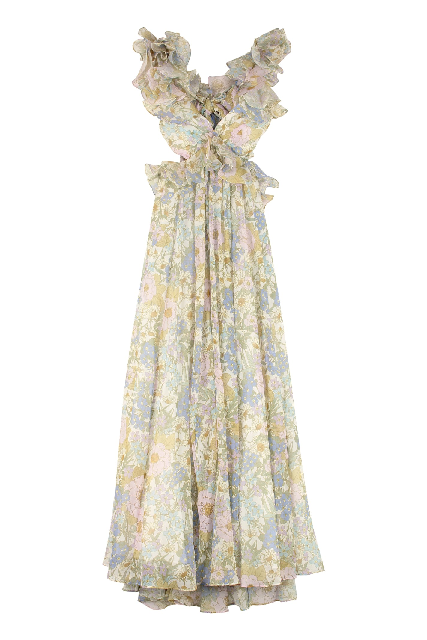 Buy Zimmermann Super Eight Printed Maxi Dress online, shop Zimmermann with free shipping