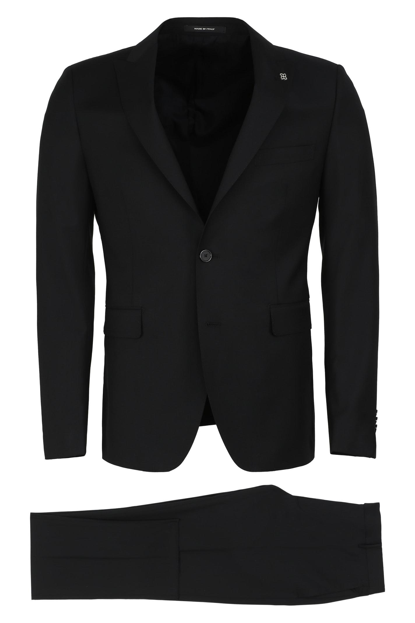 Tagliatore Virgin Wool Two Piece Suit