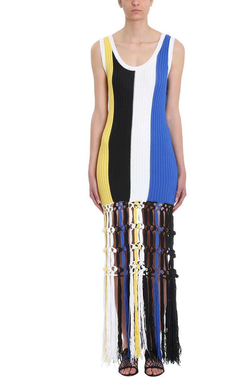 Sonia Rykiel Robe Lounge Macrame Dress