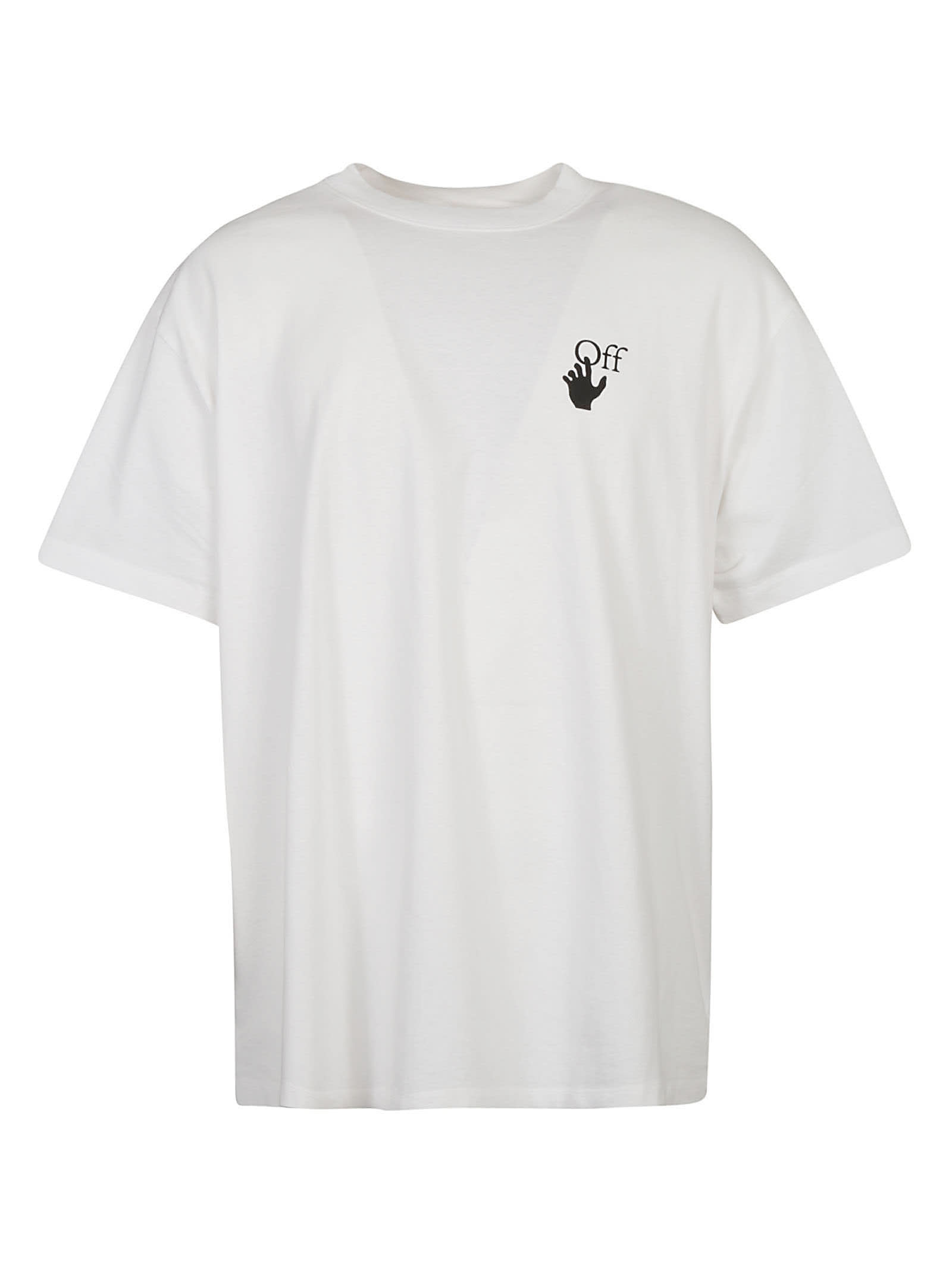 Off-White Cottons MARKER OVER T-SHIRT