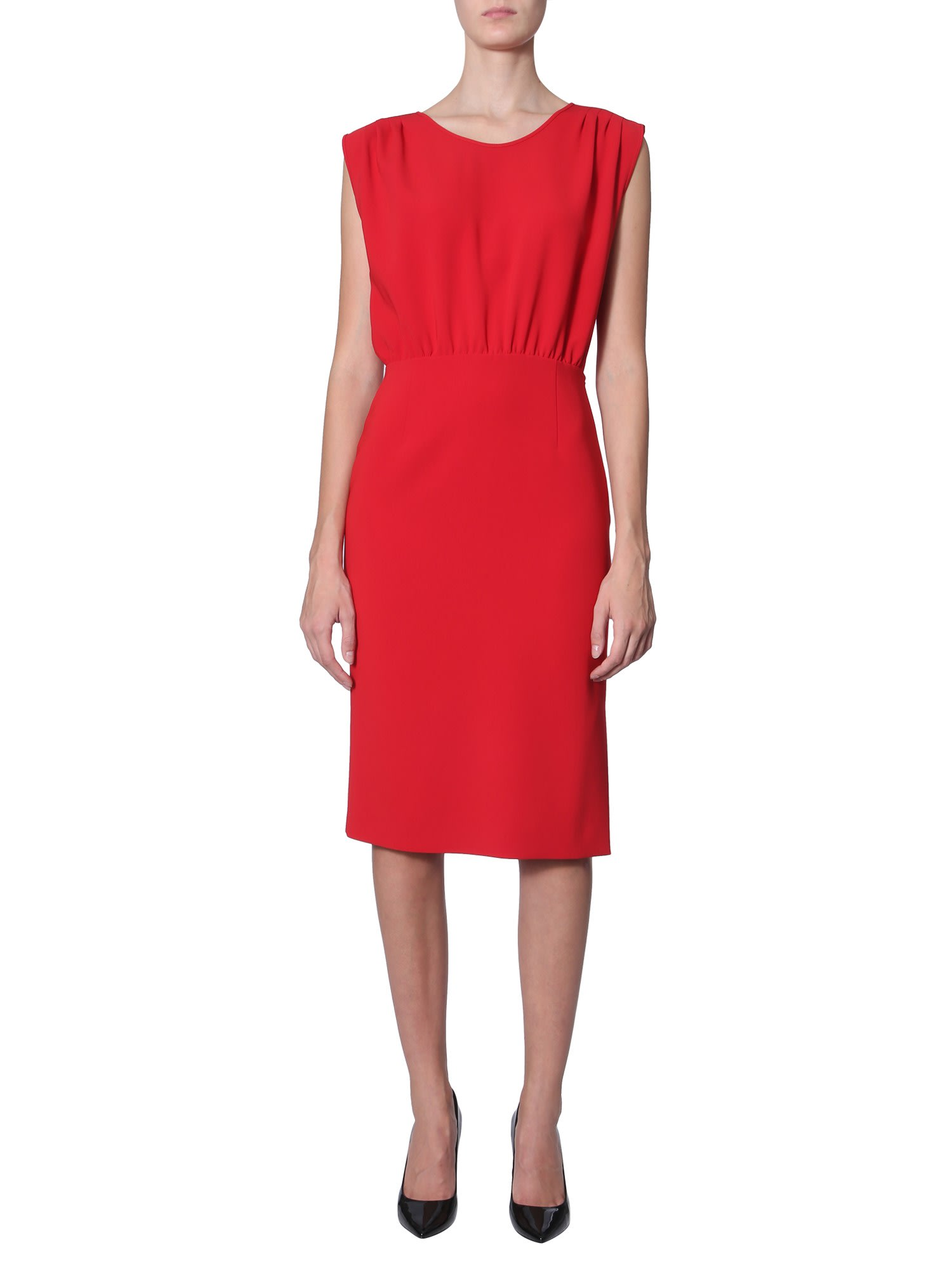 Photo of  Boutique Moschino Midi Dress- shop Boutique Moschino  online sales