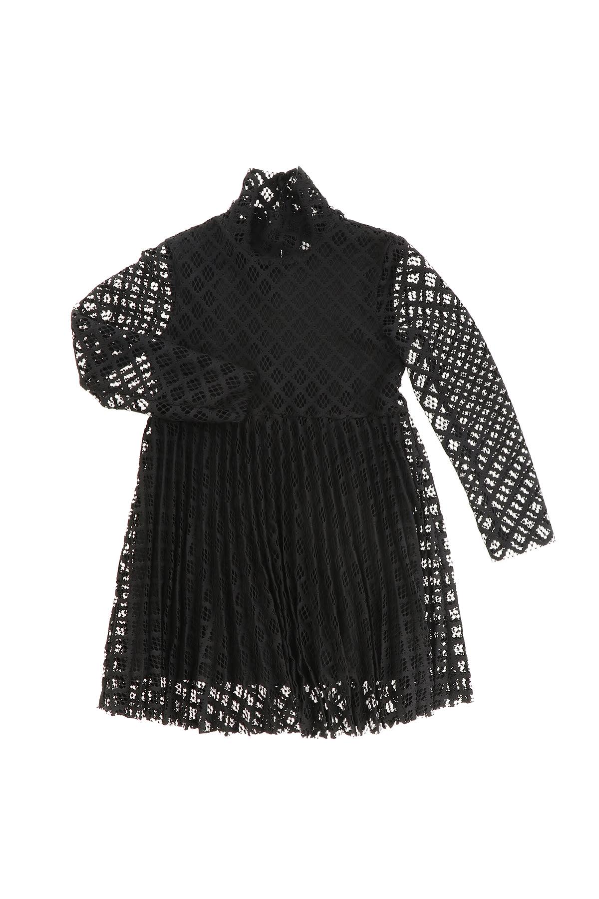 Buy Philosophy di Lorenzo Serafini Kids Perforated Fabric Dress online, shop Philosophy di Lorenzo Serafini Kids with free shipping