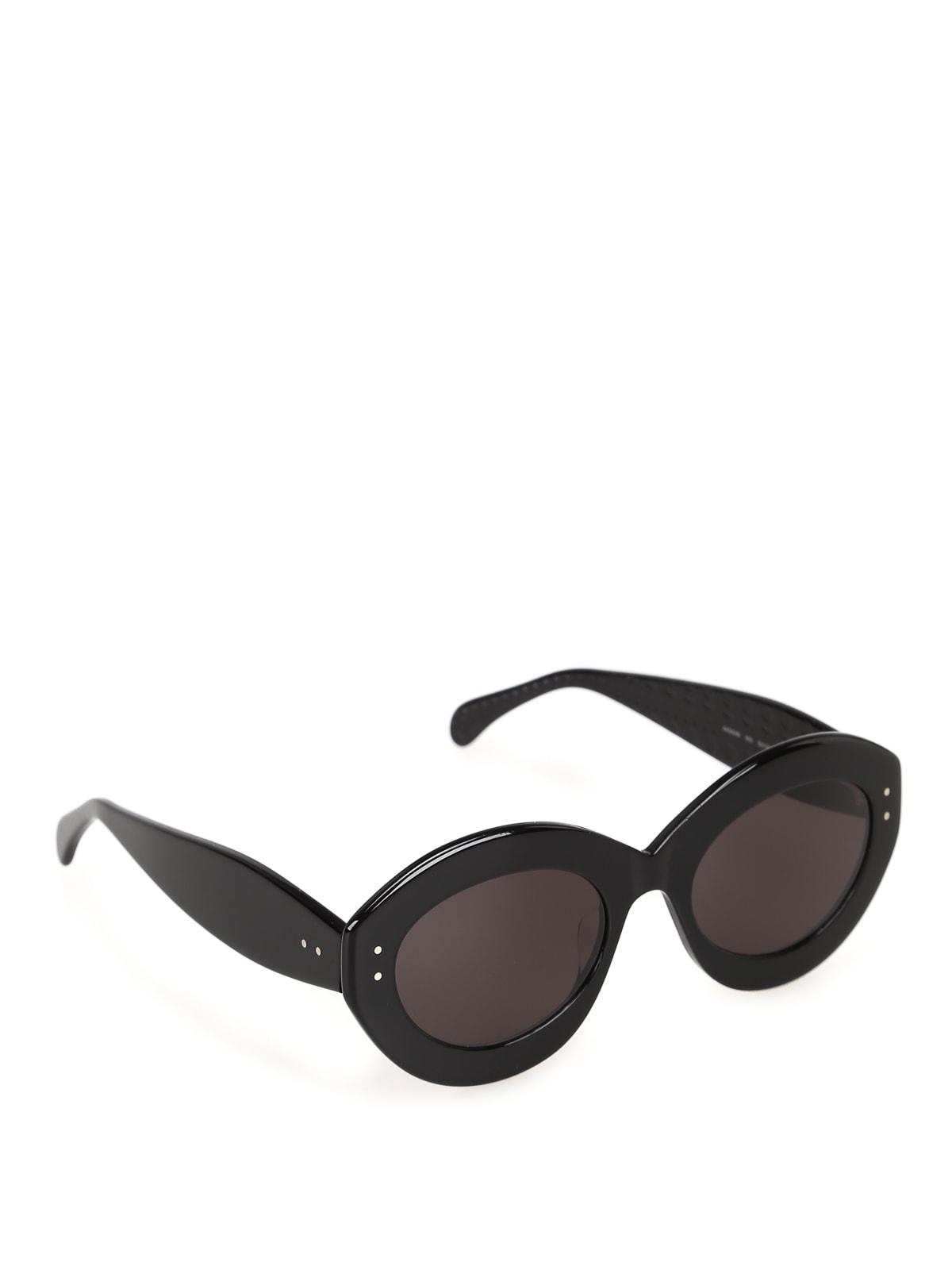 Alaïa Aa0004s Sunglasses In Black Black Grey