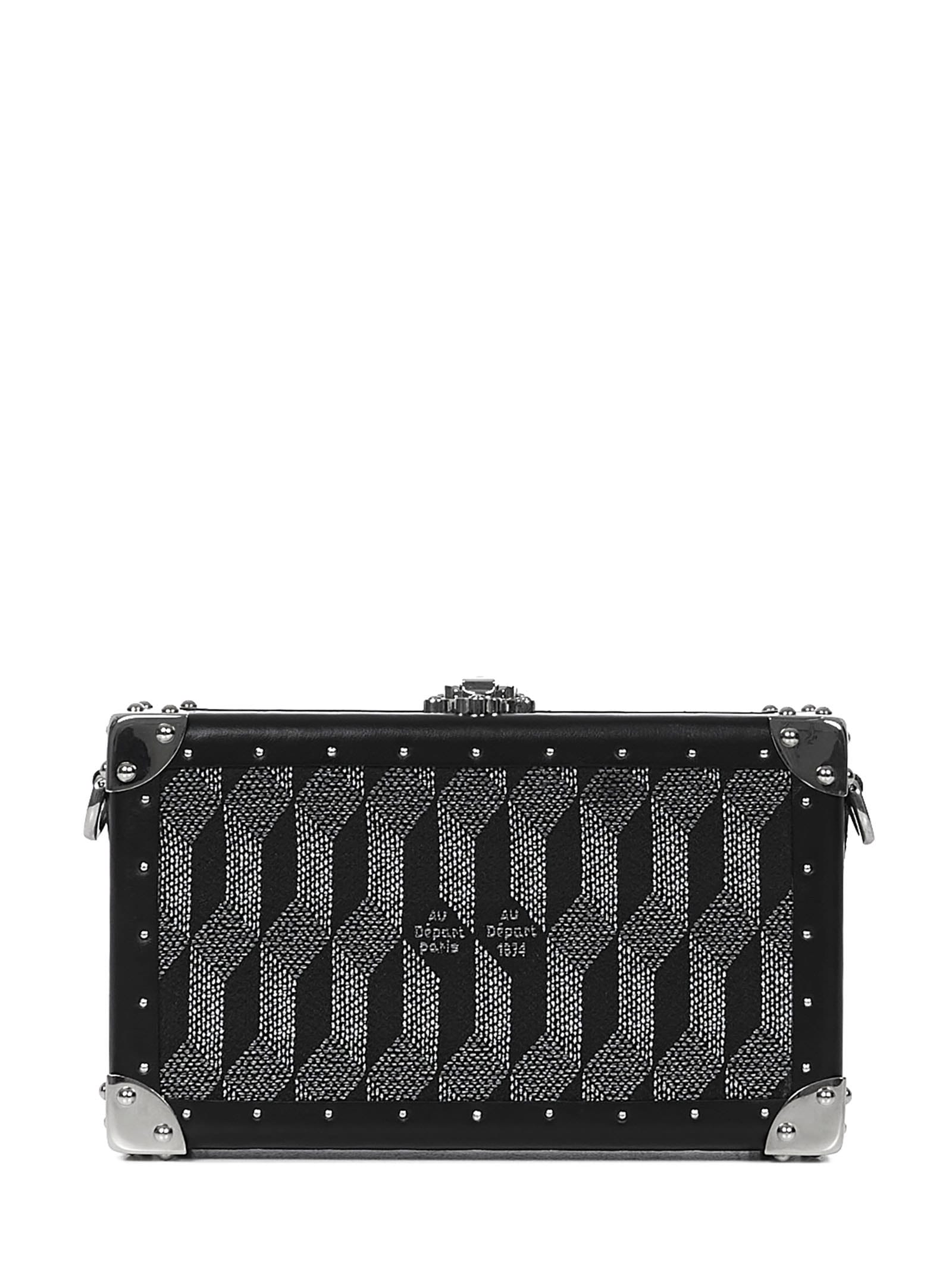 Au Depart AU DEPART PARIS NANO TRUNK MONOGRAM CLUTCH