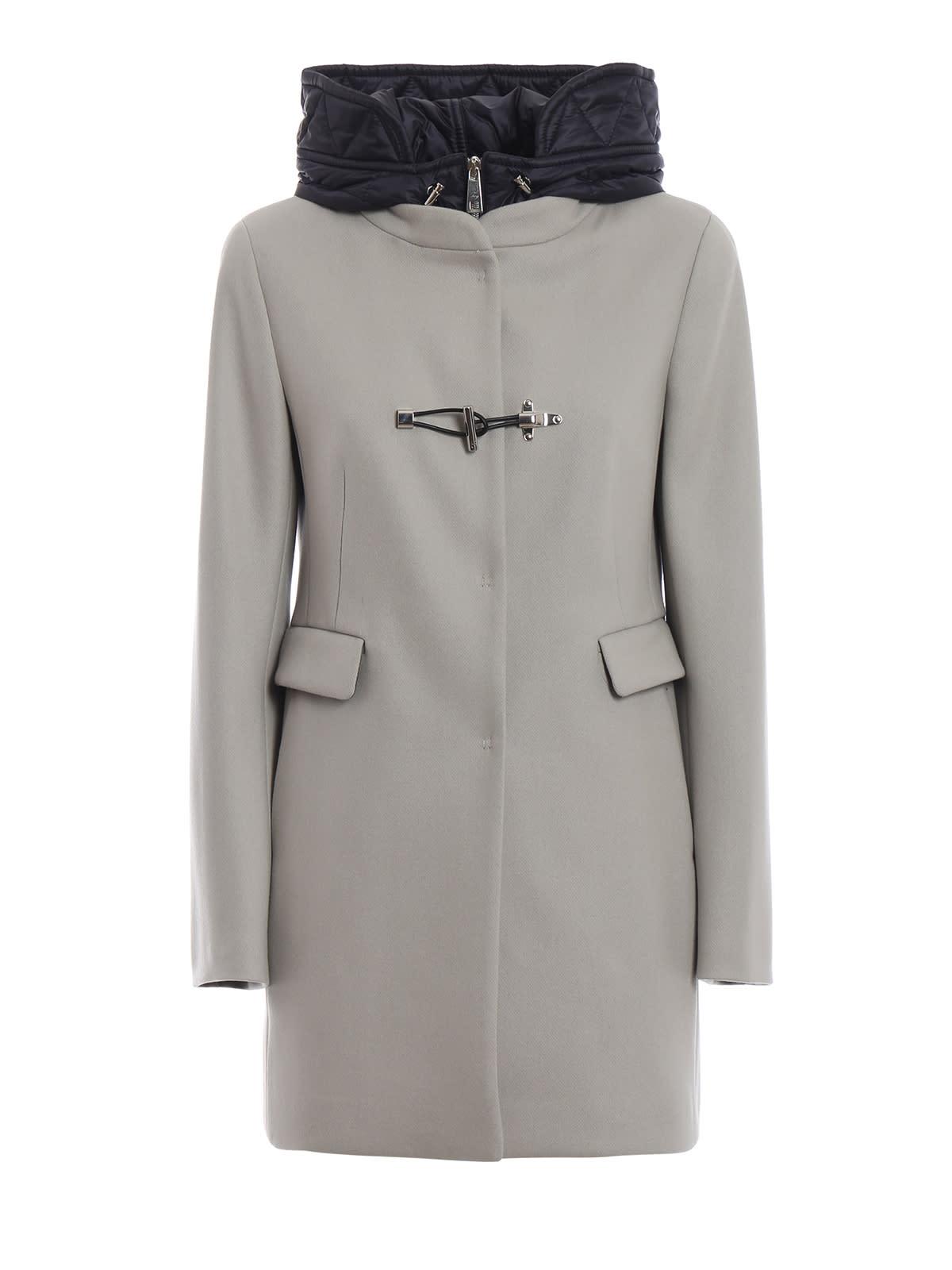 Fay Double Front Coat