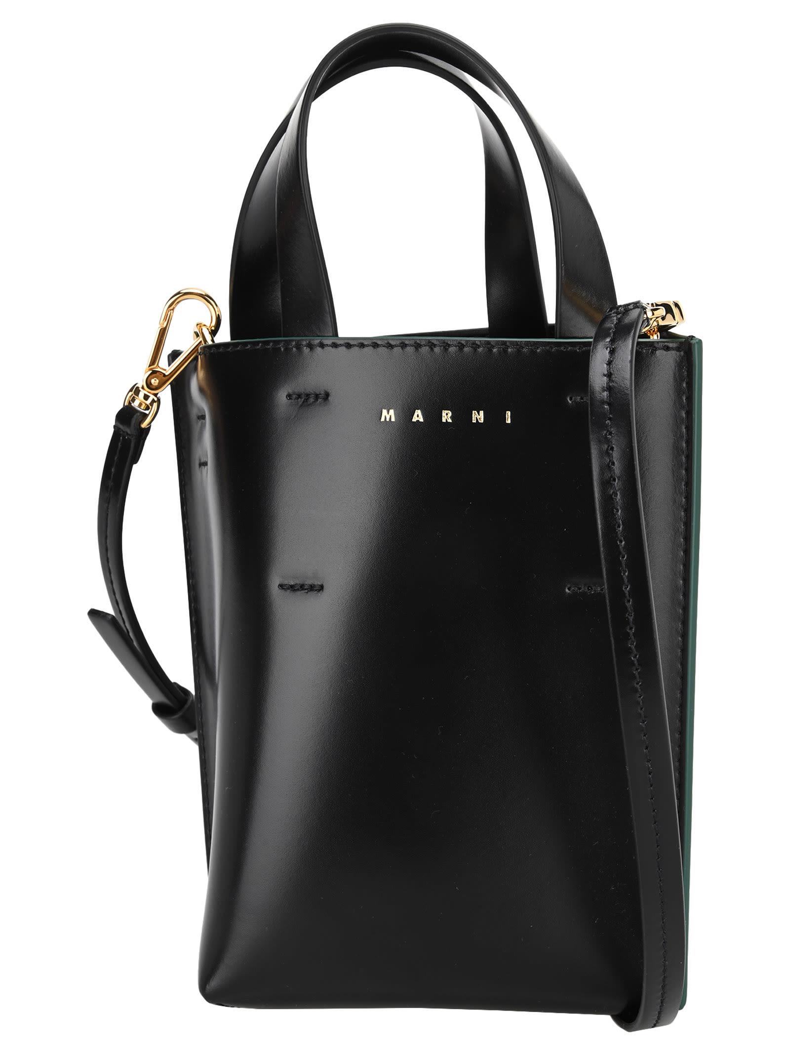 Marni NANO MUSEO SHOPPING BAG