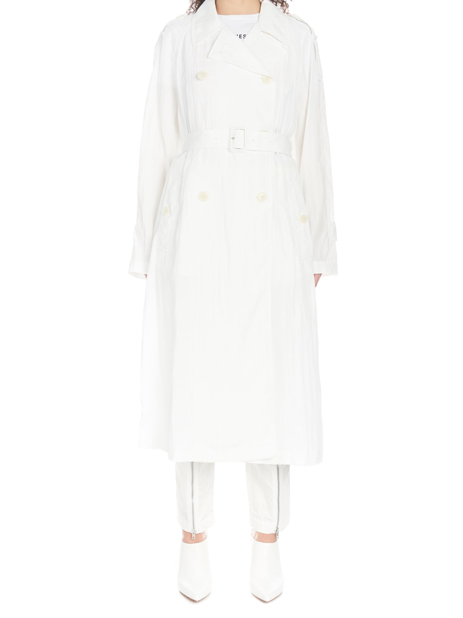 Helmut Lang parachute Trench