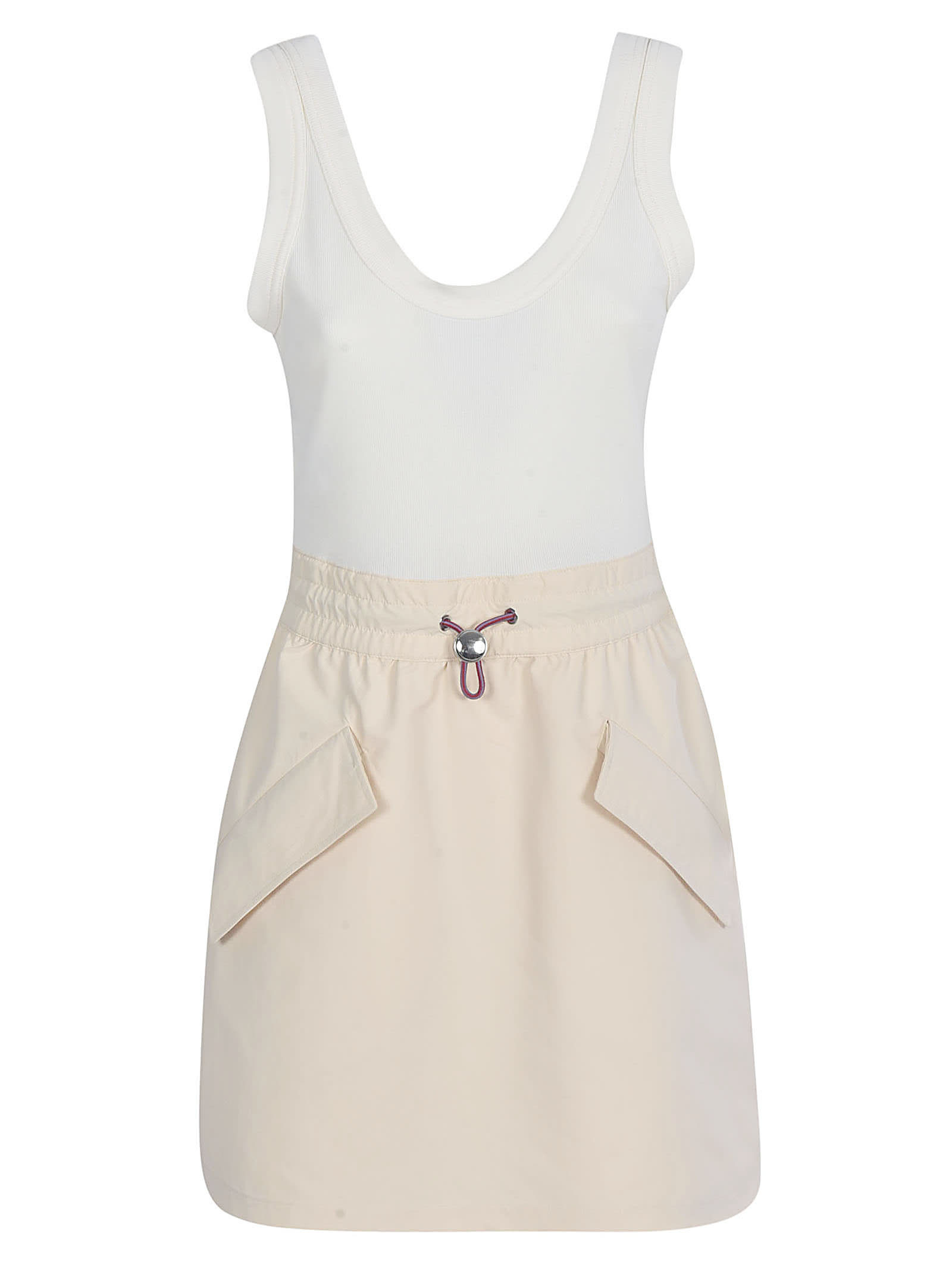 Buy Moncler Genius Side Pocket Detailed Sleeveless Dress online, shop Moncler Genius with free shipping