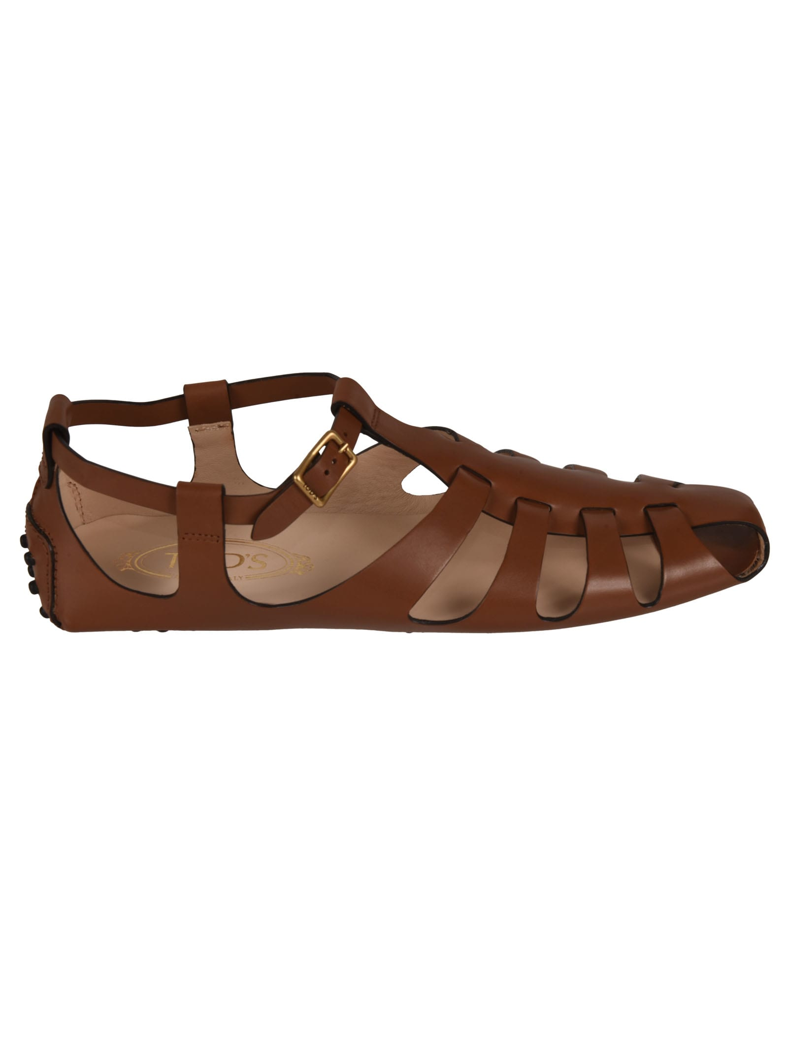 Buy Tods Heaven Cinturino Loafers online, shop Tods shoes with free shipping