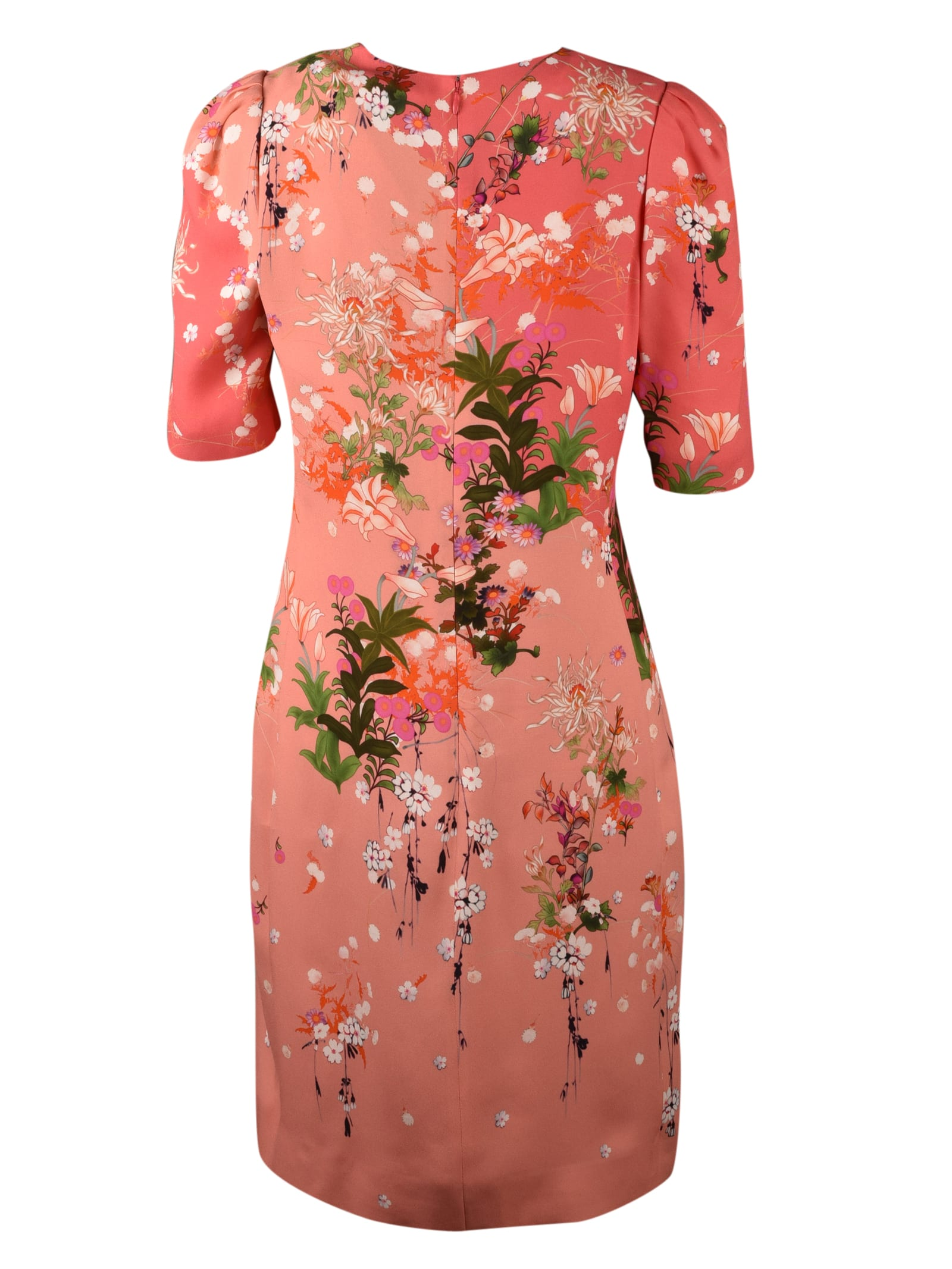 Buy Givenchy Crepe Dress With Floral Print online, shop Givenchy with free shipping
