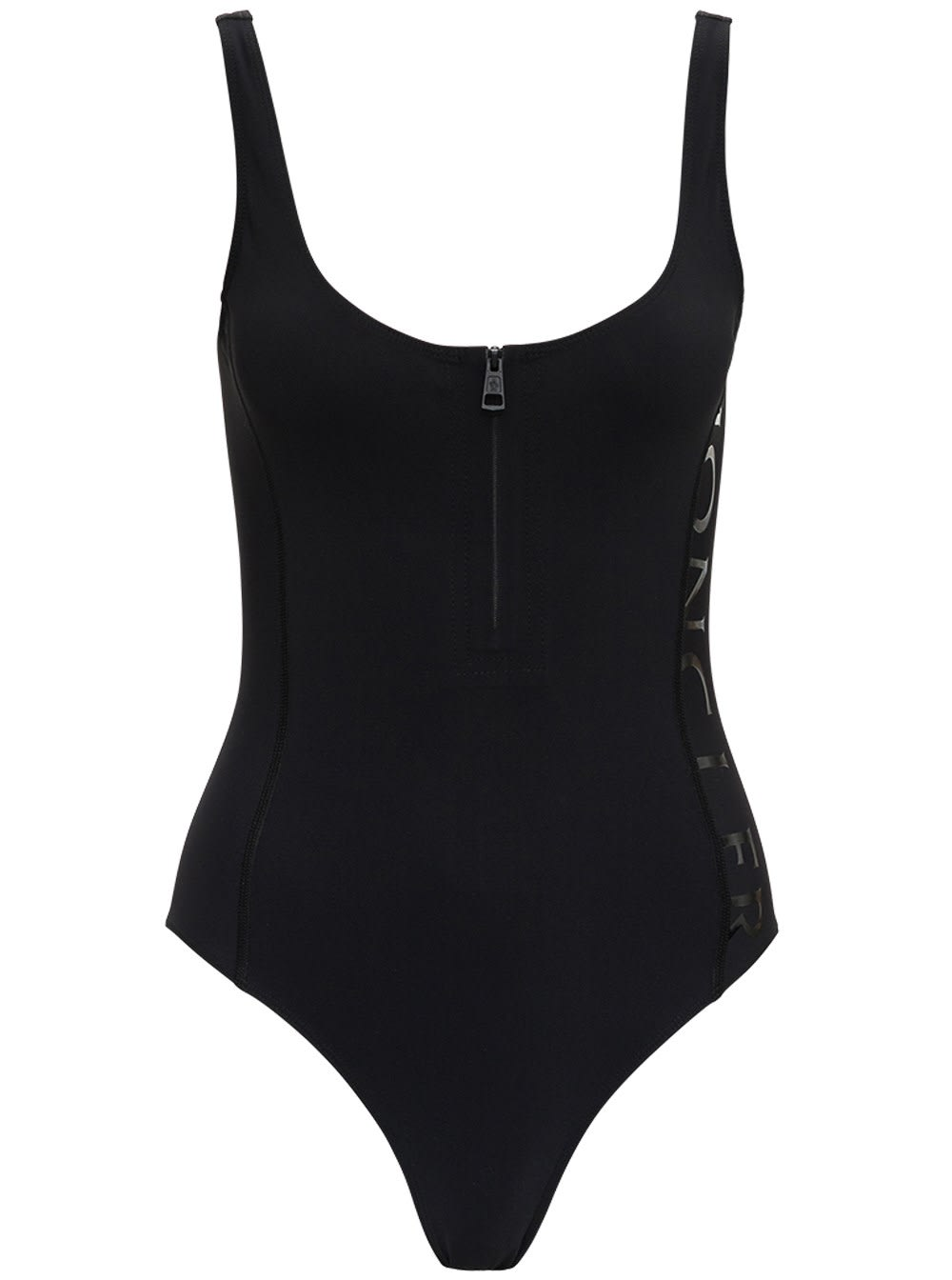 Moncler SWIMSUIT WITH LOGO PRINT