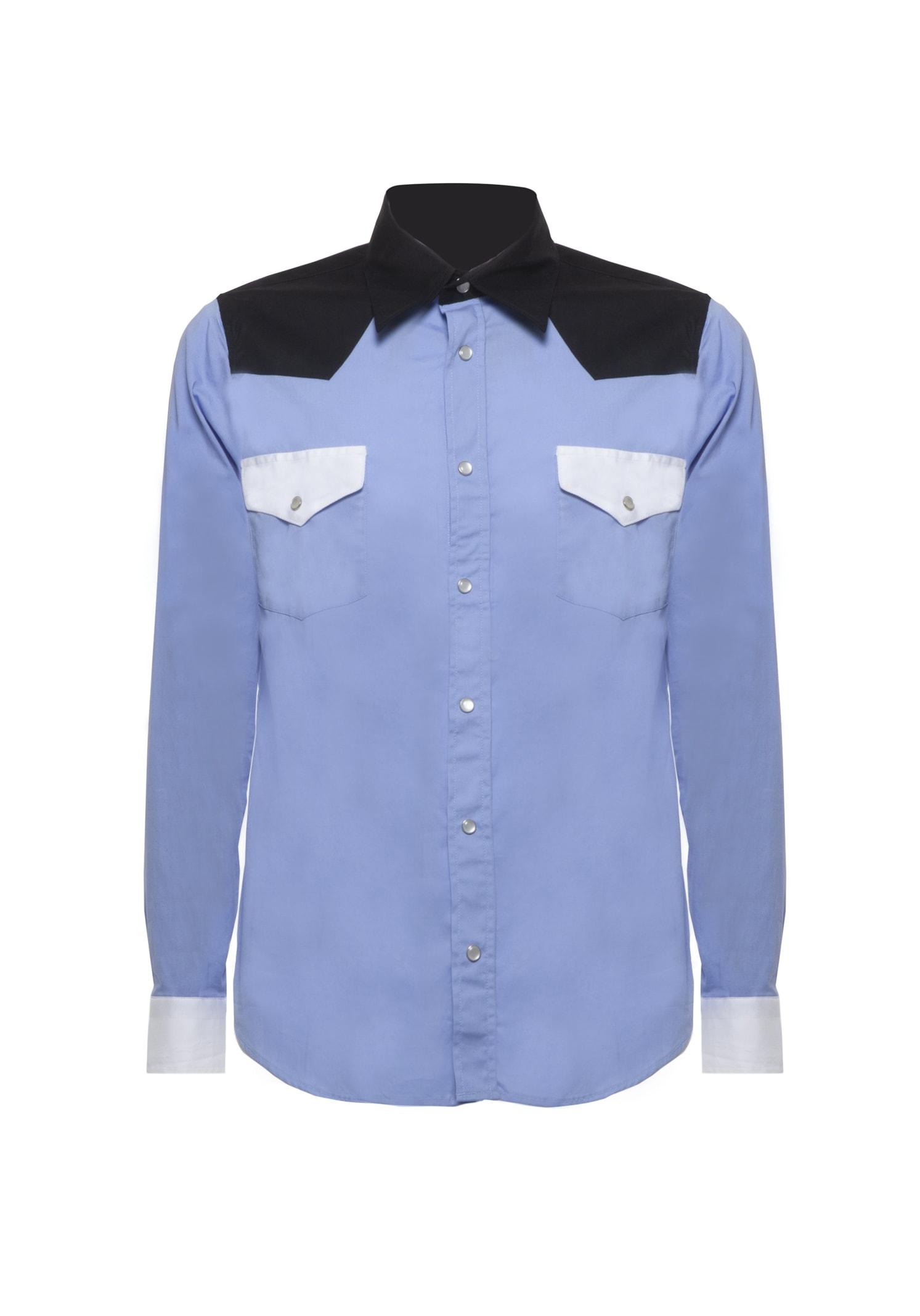 Shirt Blocks Light Blue
