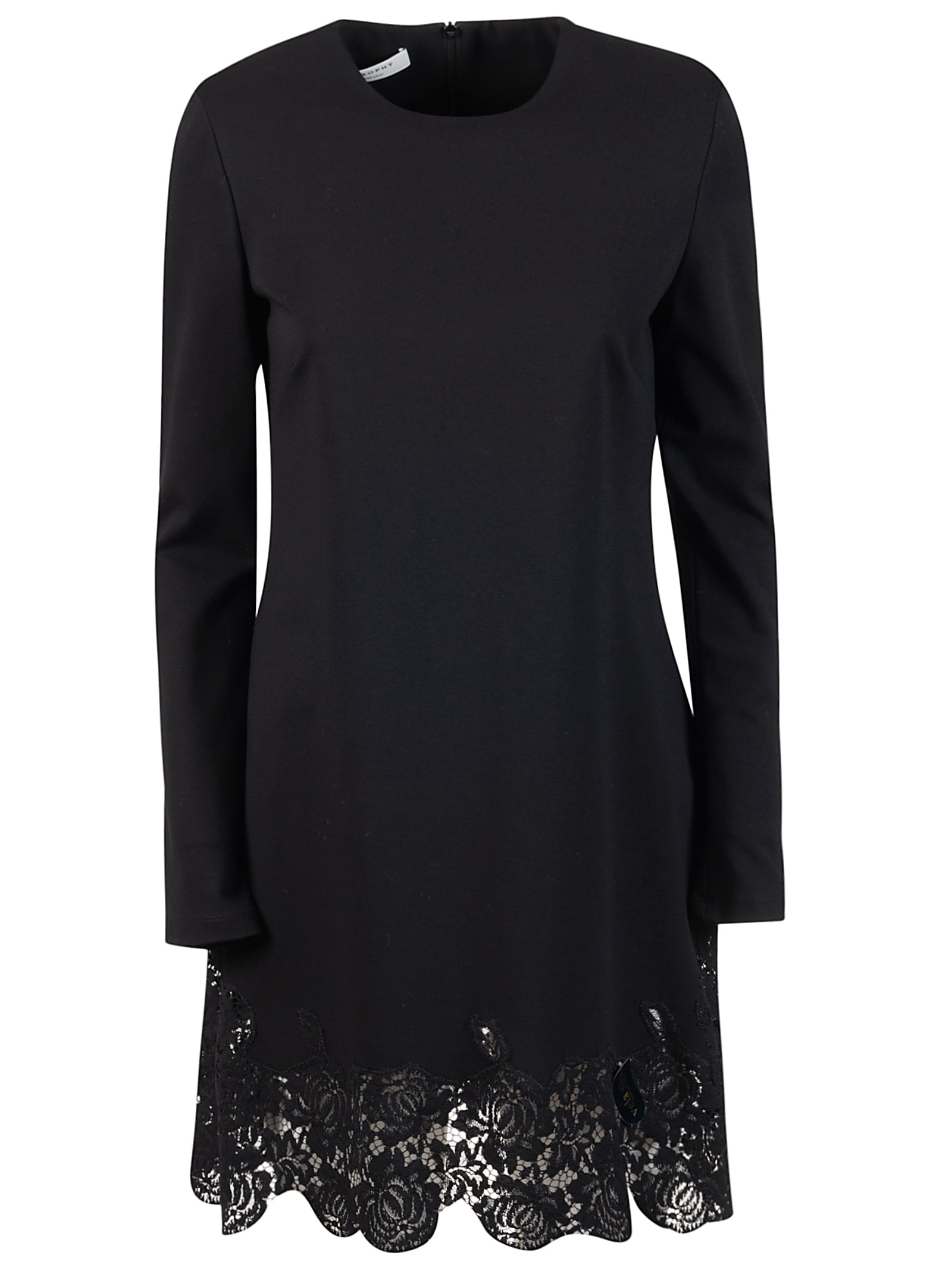 Philosophy di Lorenzo Serafini Floral Lace Detail Dress