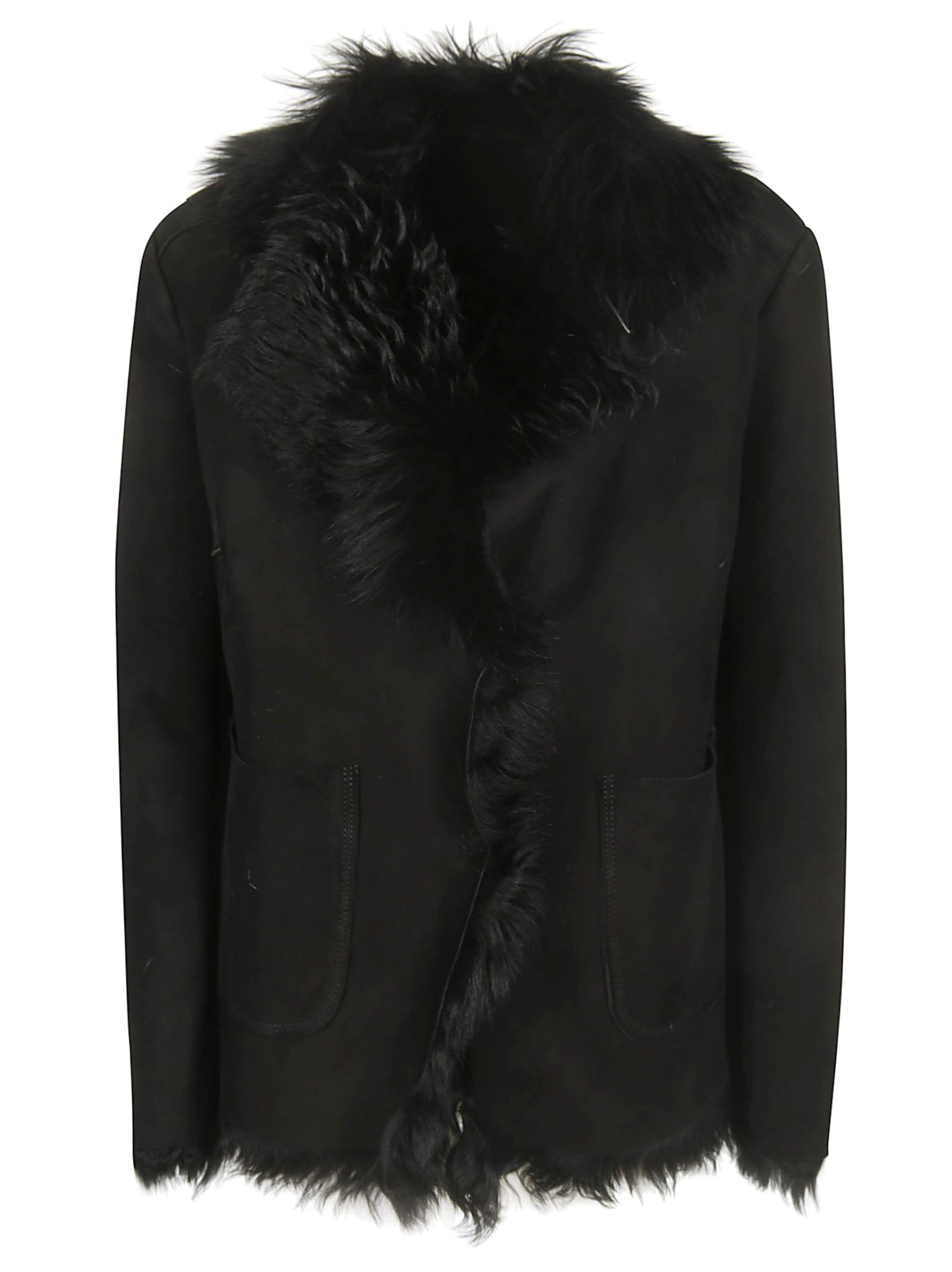 Salvatore Santoro Fur Detail Fringed Jacket