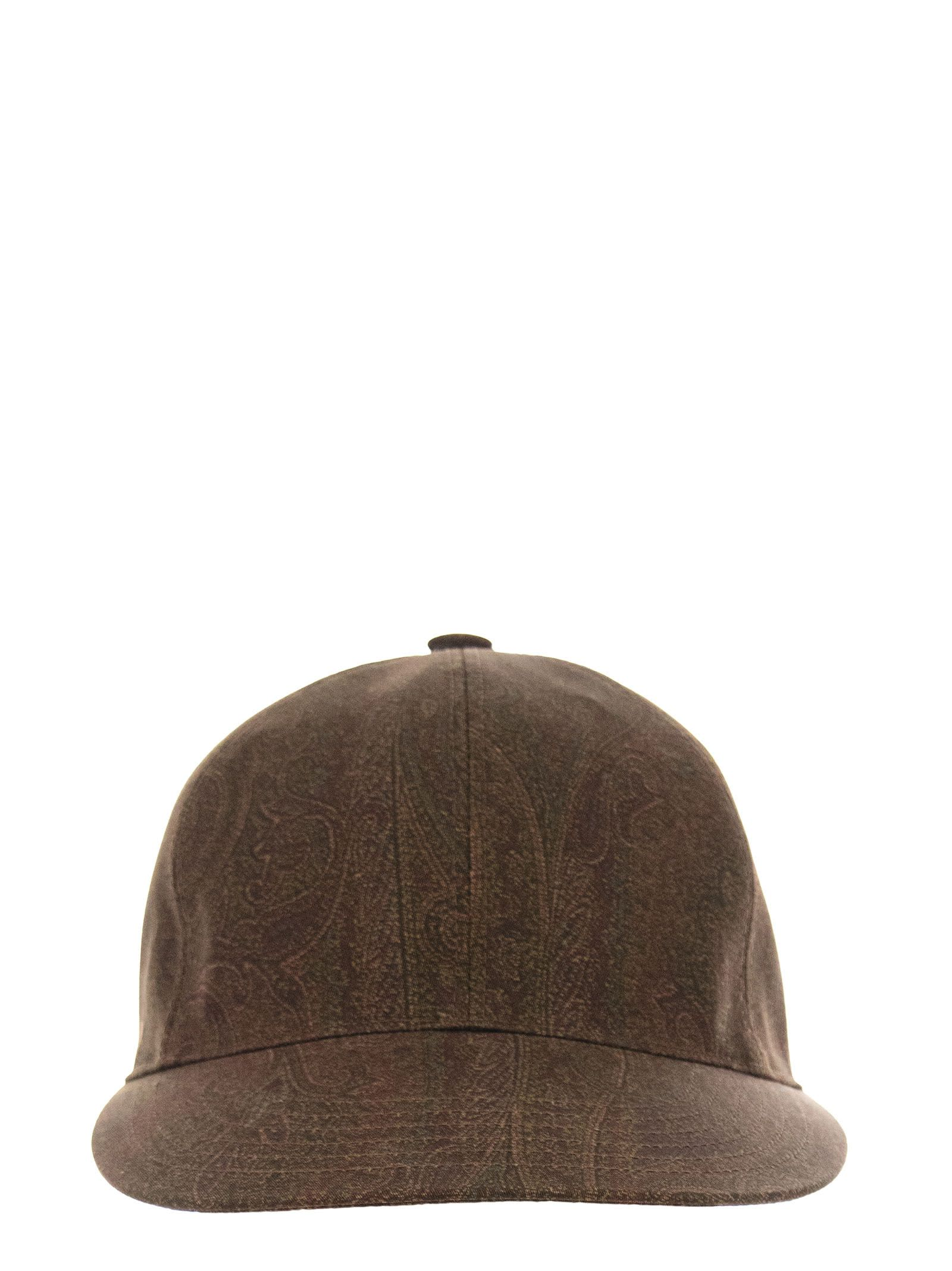 Paisley-print Baseball Cap