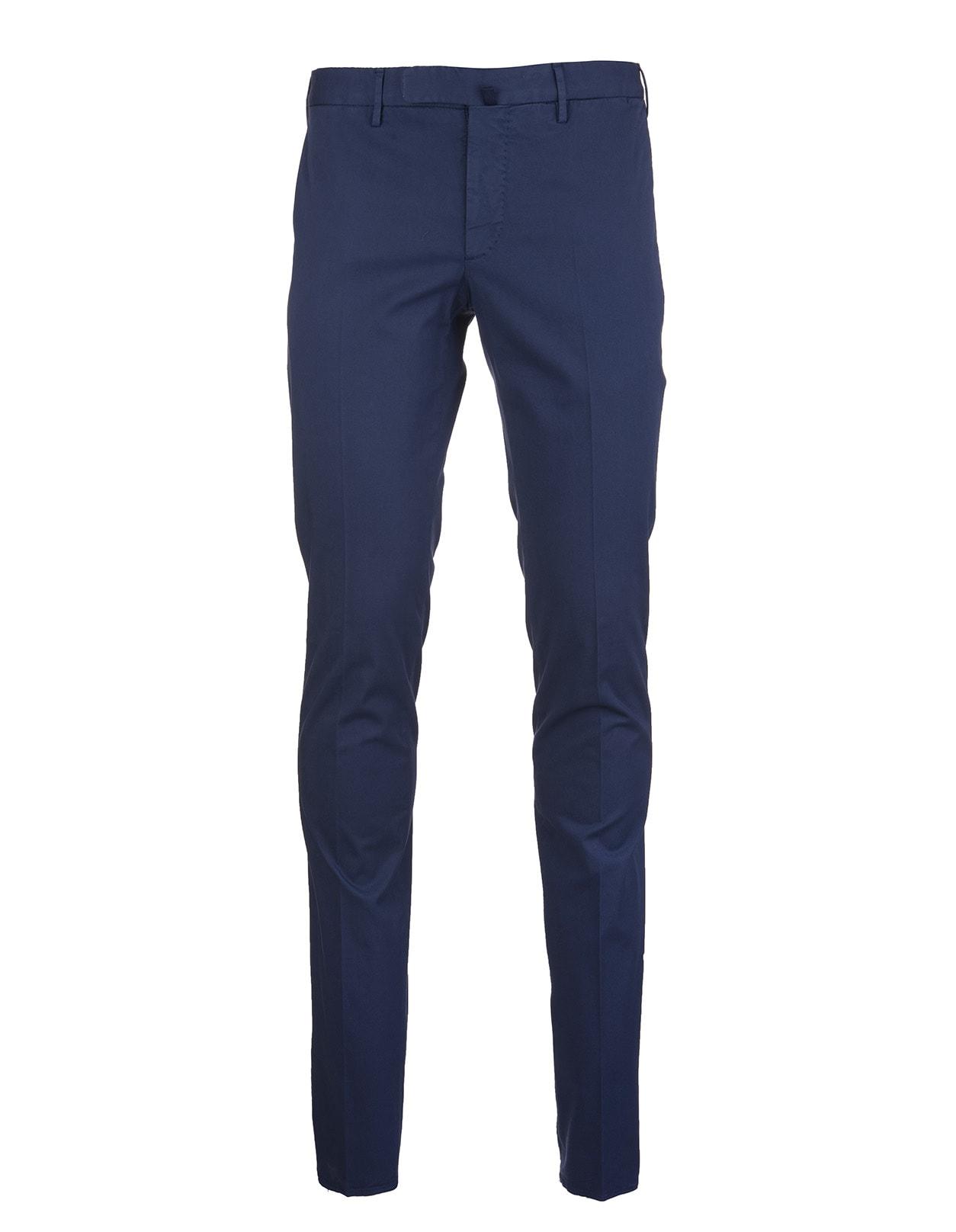 Blue Venezia 1951 Pants In Royal Batavia Cotton