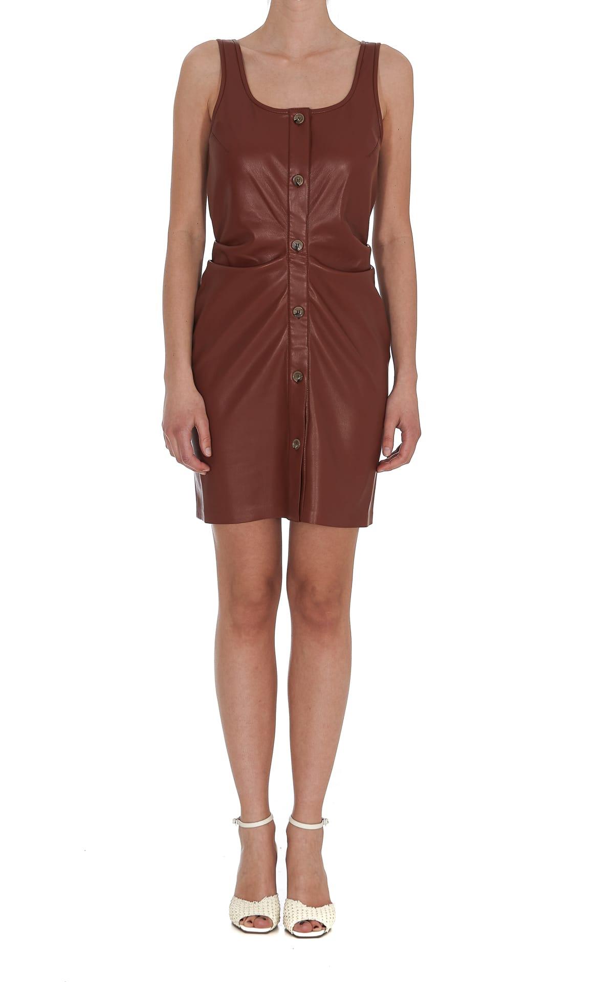 Nanushka Leathers ERNIE DRESS