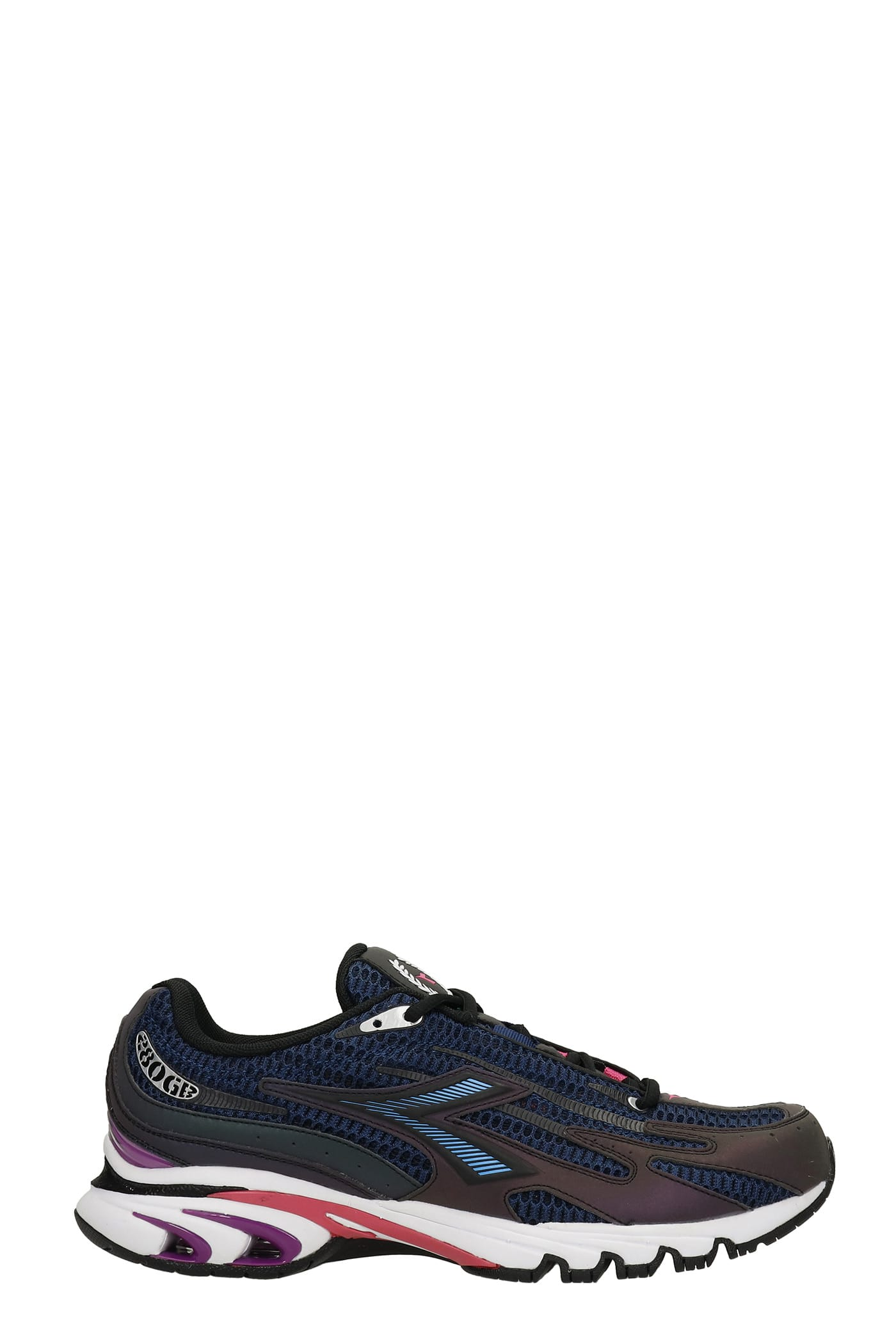 Mythos Sneakers In Blue Synthetic Fibers