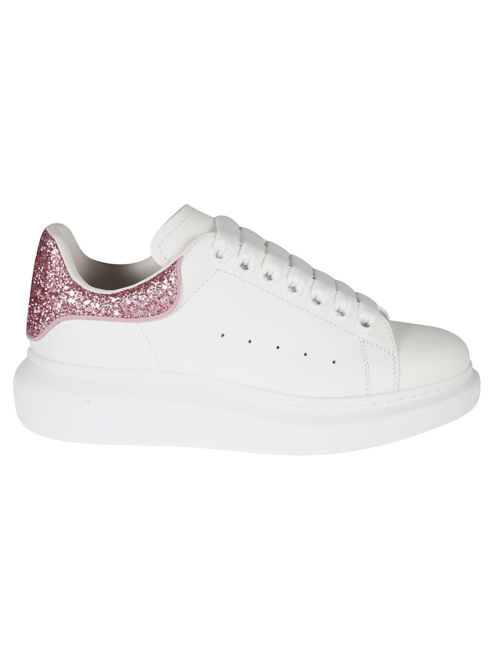 Alexander McQueen Glitter Effect Sneakers