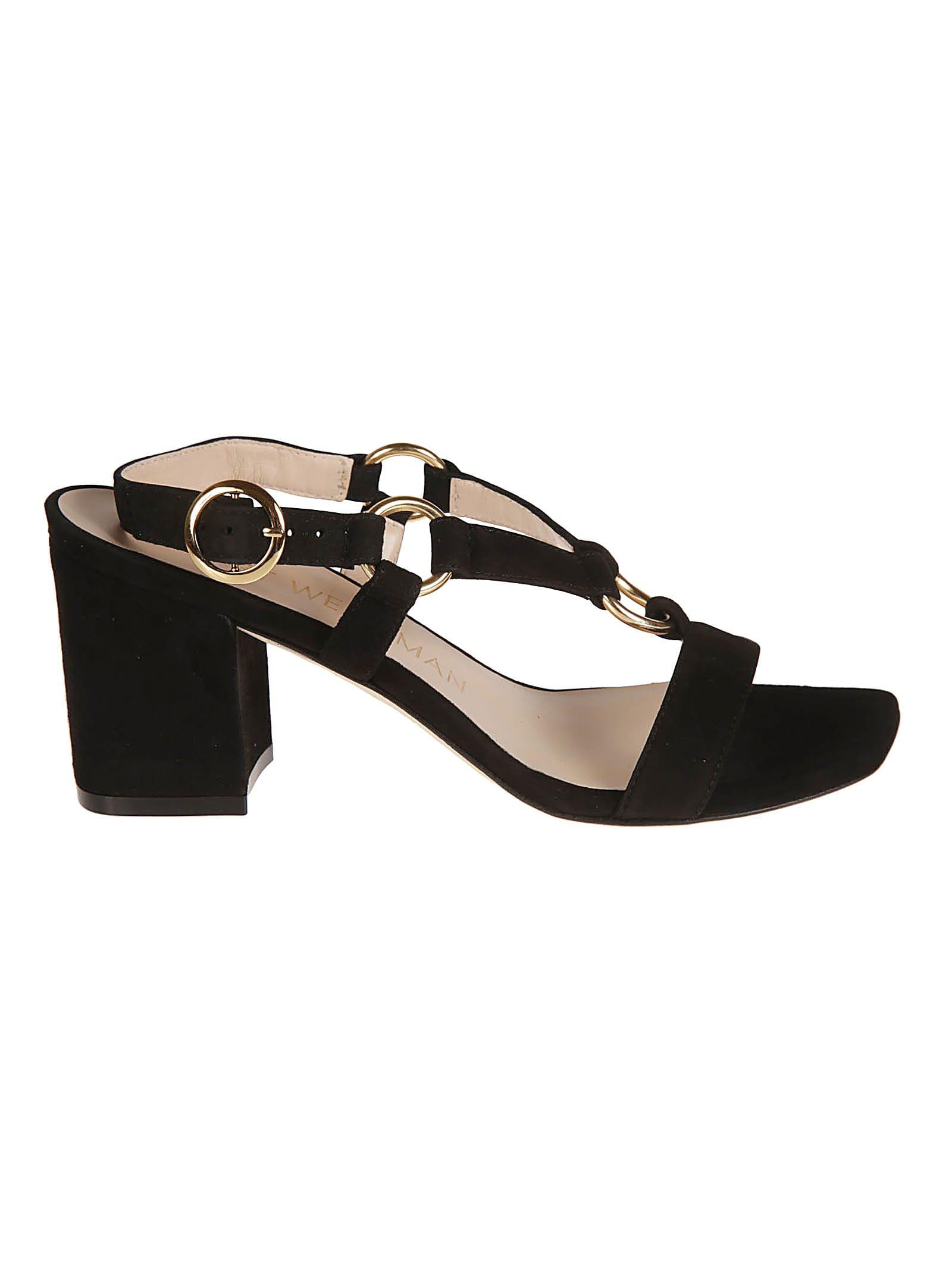Stuart Weitzman Lalita 75 Blok Sandals