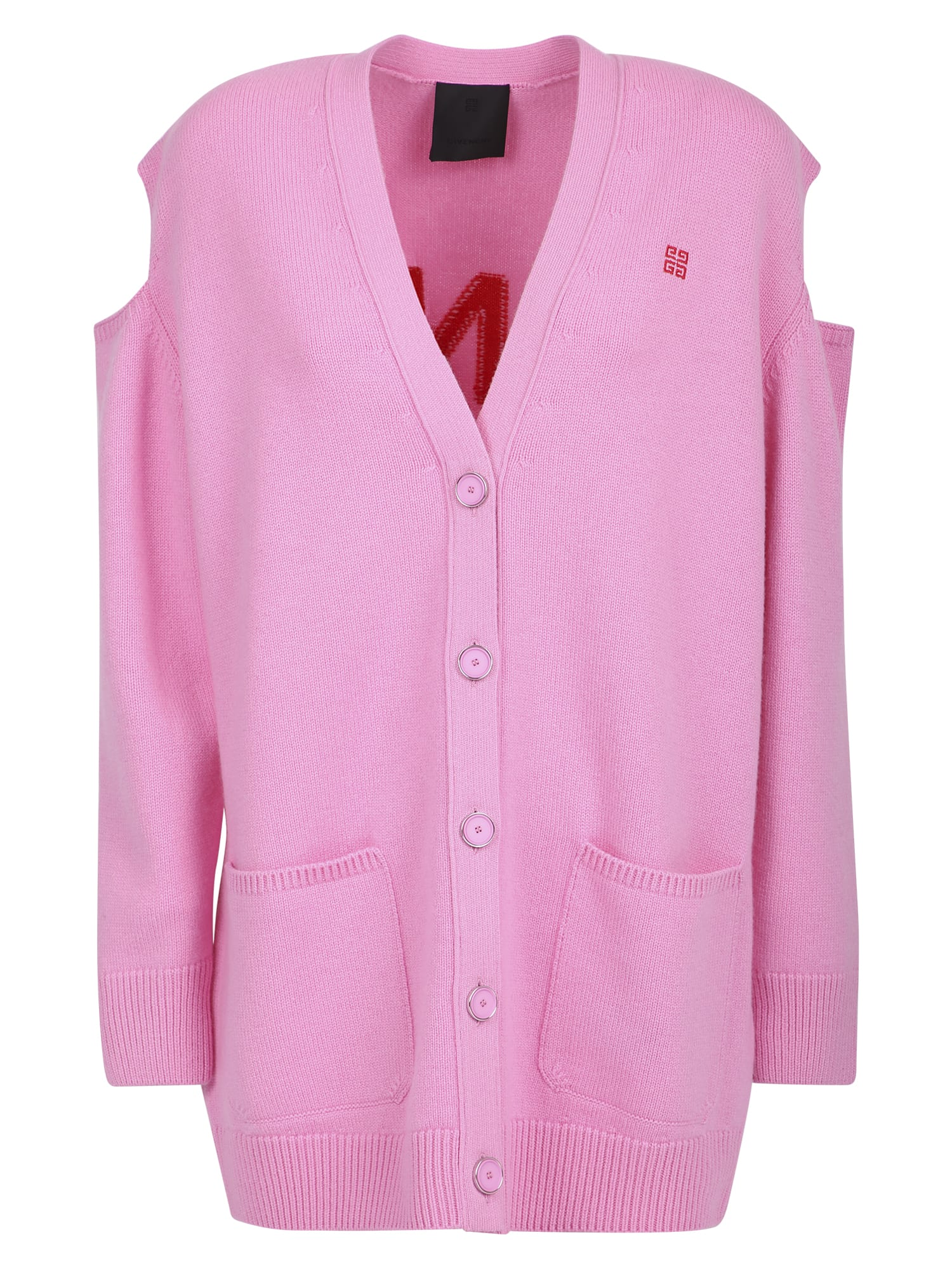 Givenchy Cardigans WOOL AND CASHMERE CARDIGAN