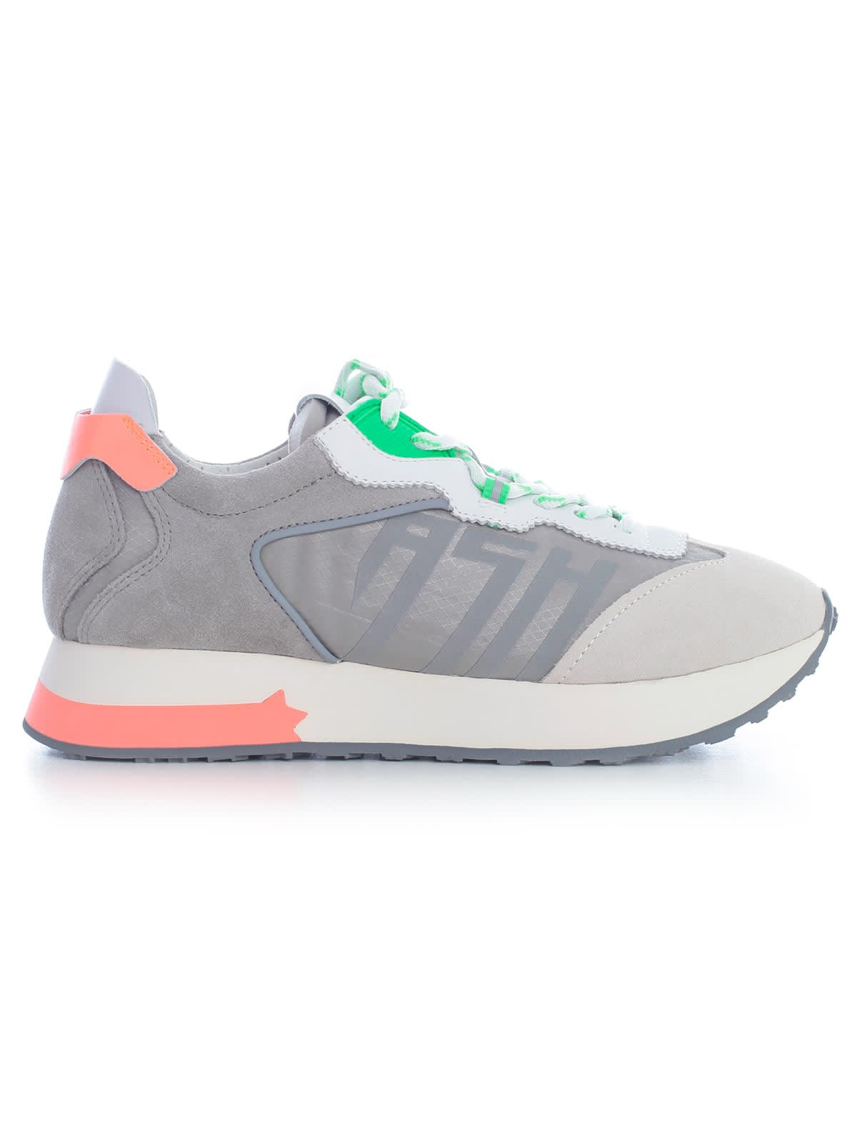 Ash Sneakers W/green Details