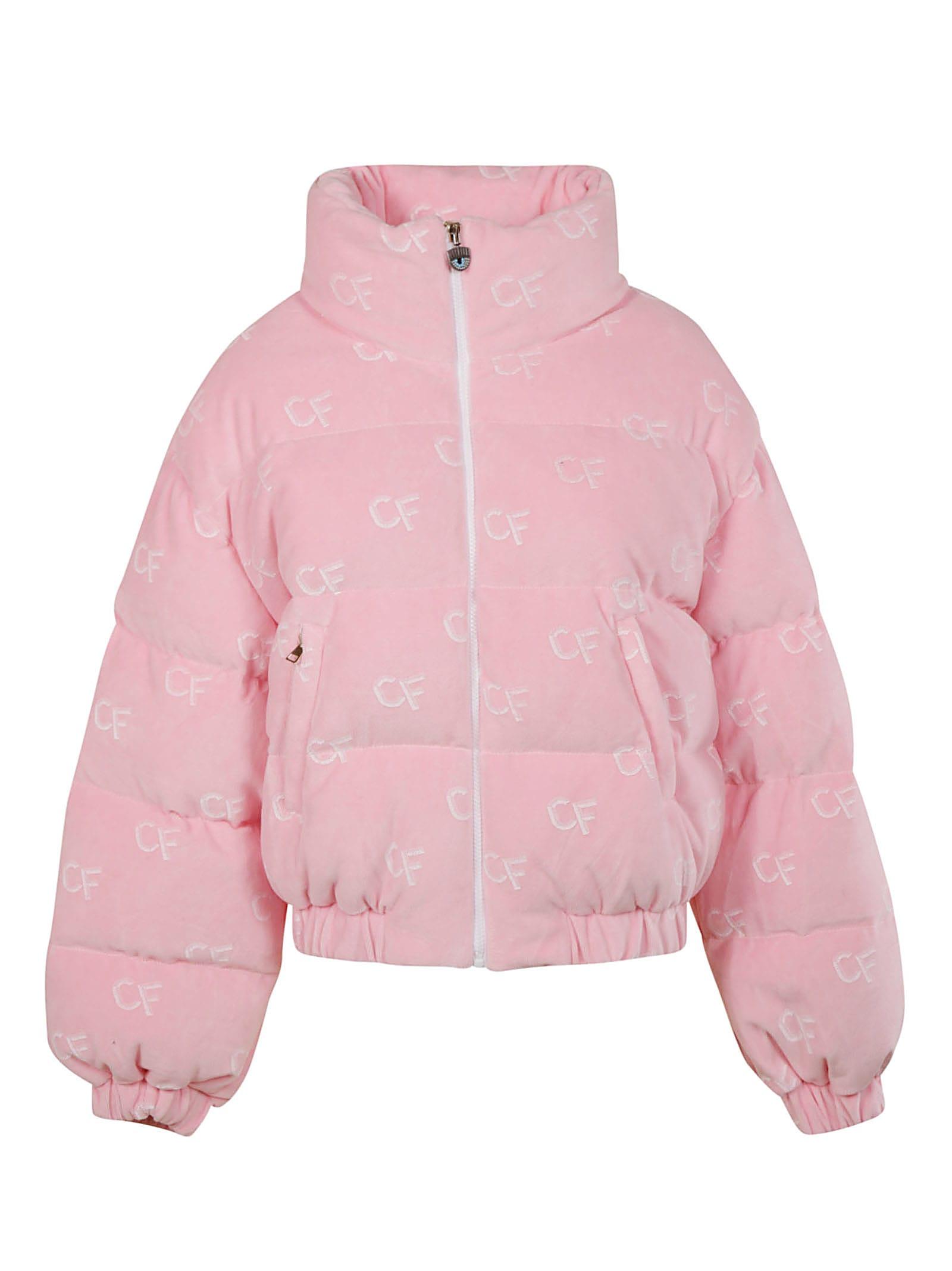 Chiara Ferragni Pattern Down Jacket