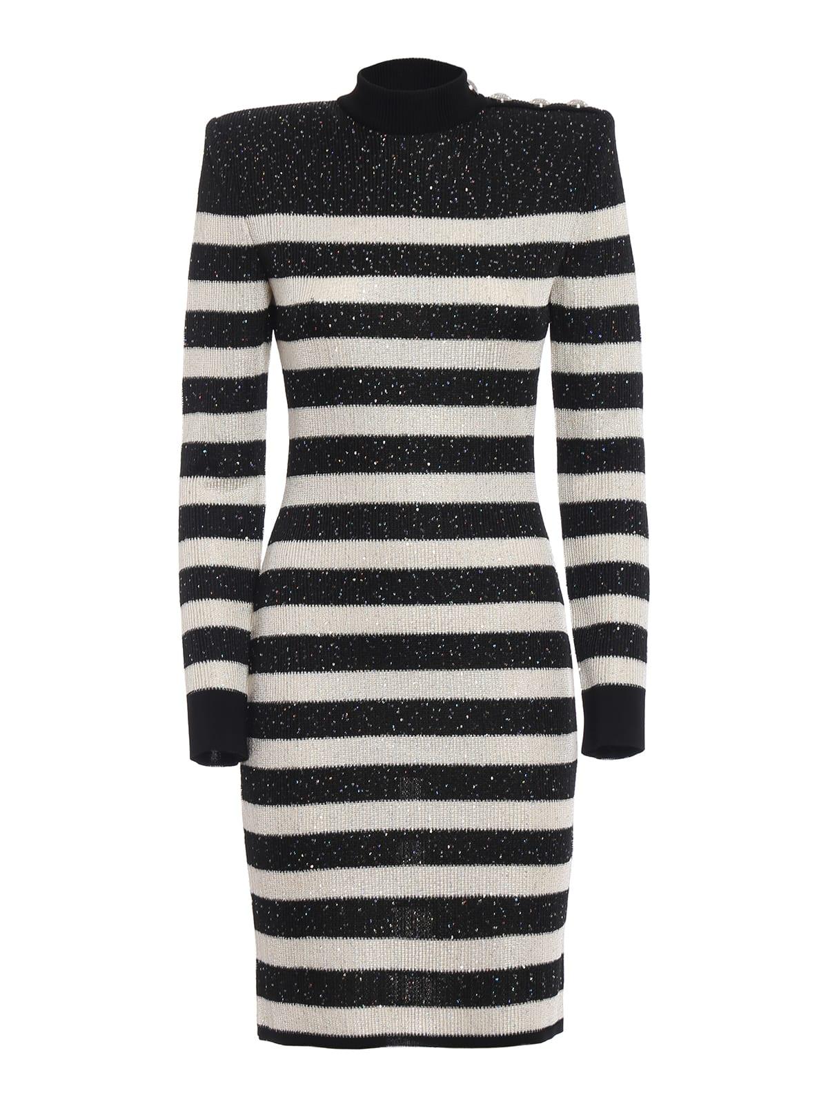 Buy Balmain Dress online, shop Balmain with free shipping