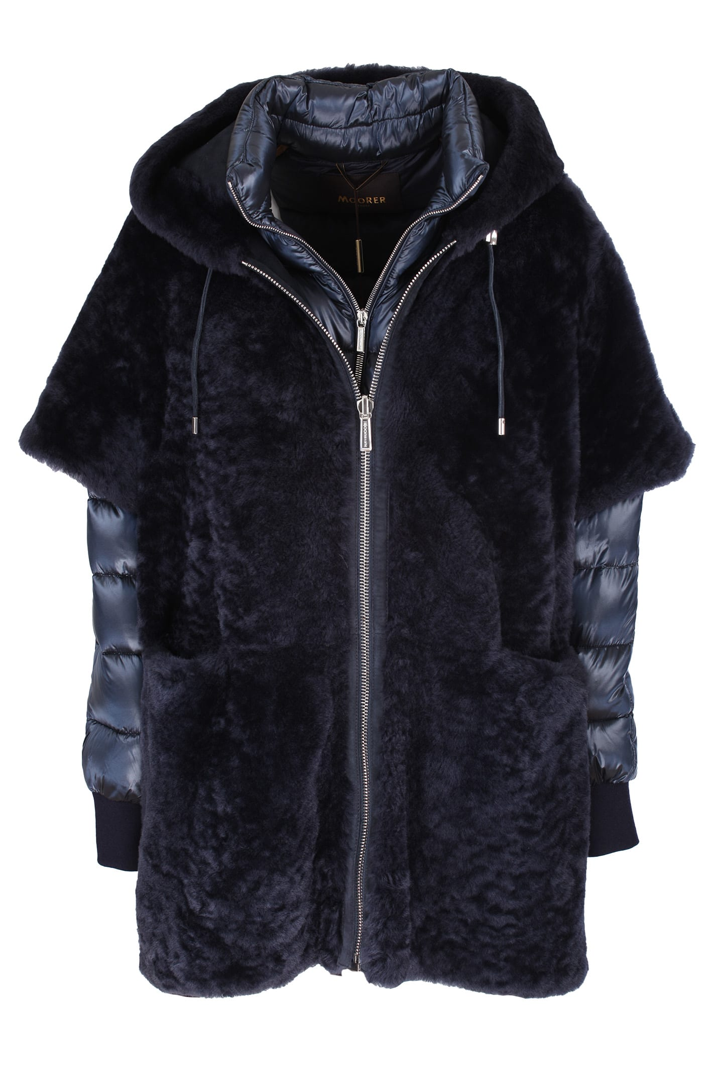 MooRER reversible sheepskin coat