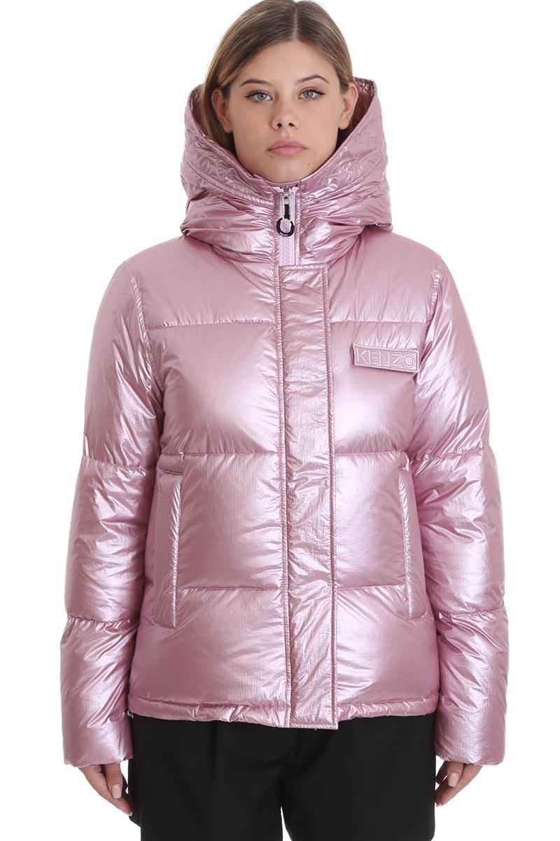 Kenzo Clothing In Rose-pink Polyamide