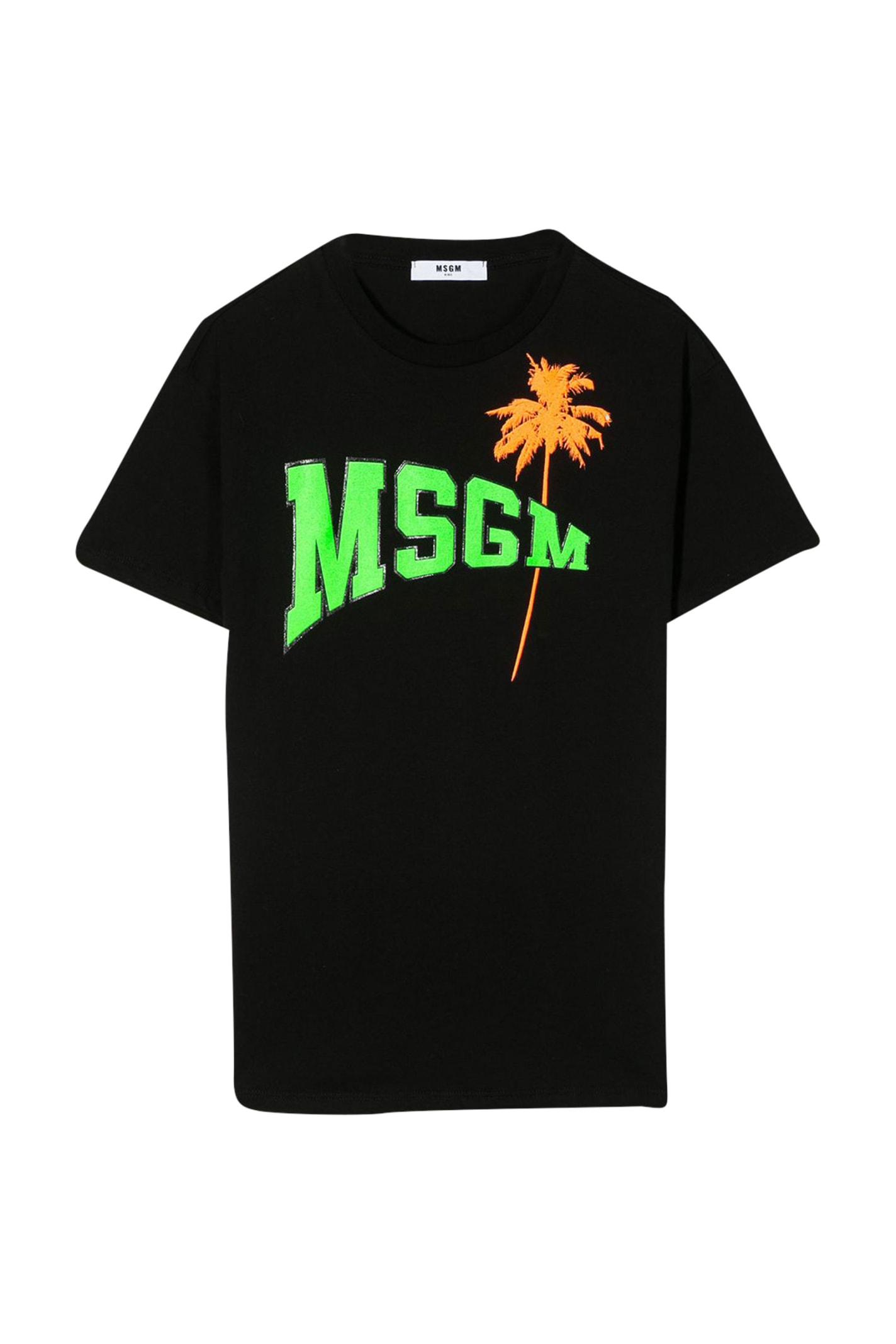 Buy Msgm Kids Printed T-shirt Dress online, shop MSGM with free shipping