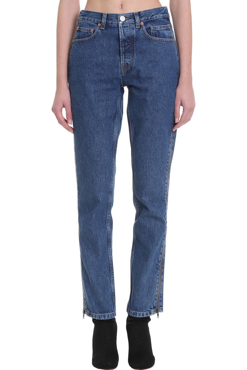 VETEMENTS Jeans In Blue Denim
