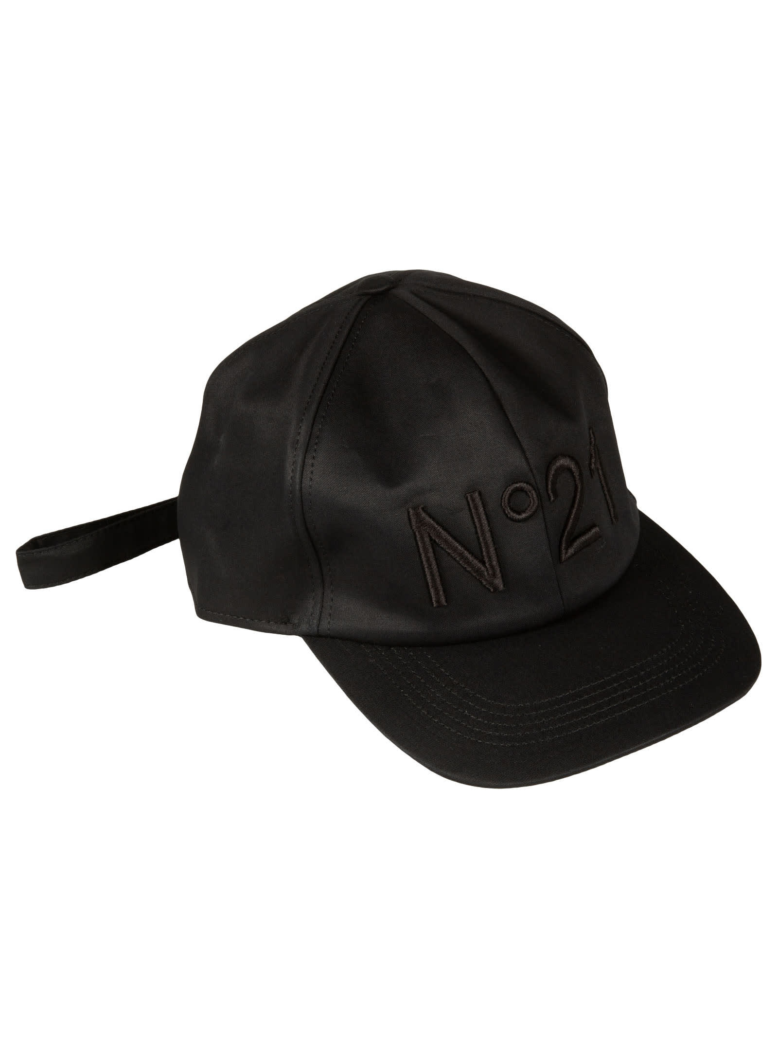 N°21 EMBROIDERED LOGO CAP