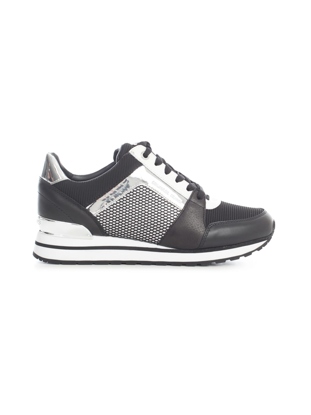 Michael Michael Kors BILLIE TRAINERS SHINY RHODIUM