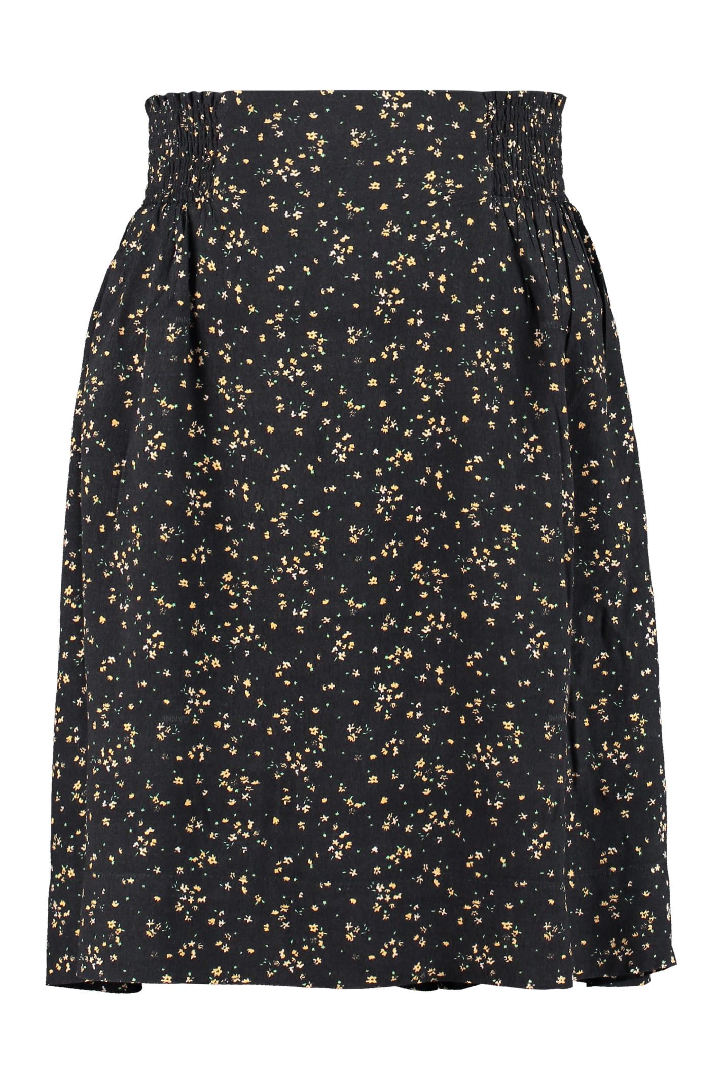 Ganni Skirts PRINTED SKIRT