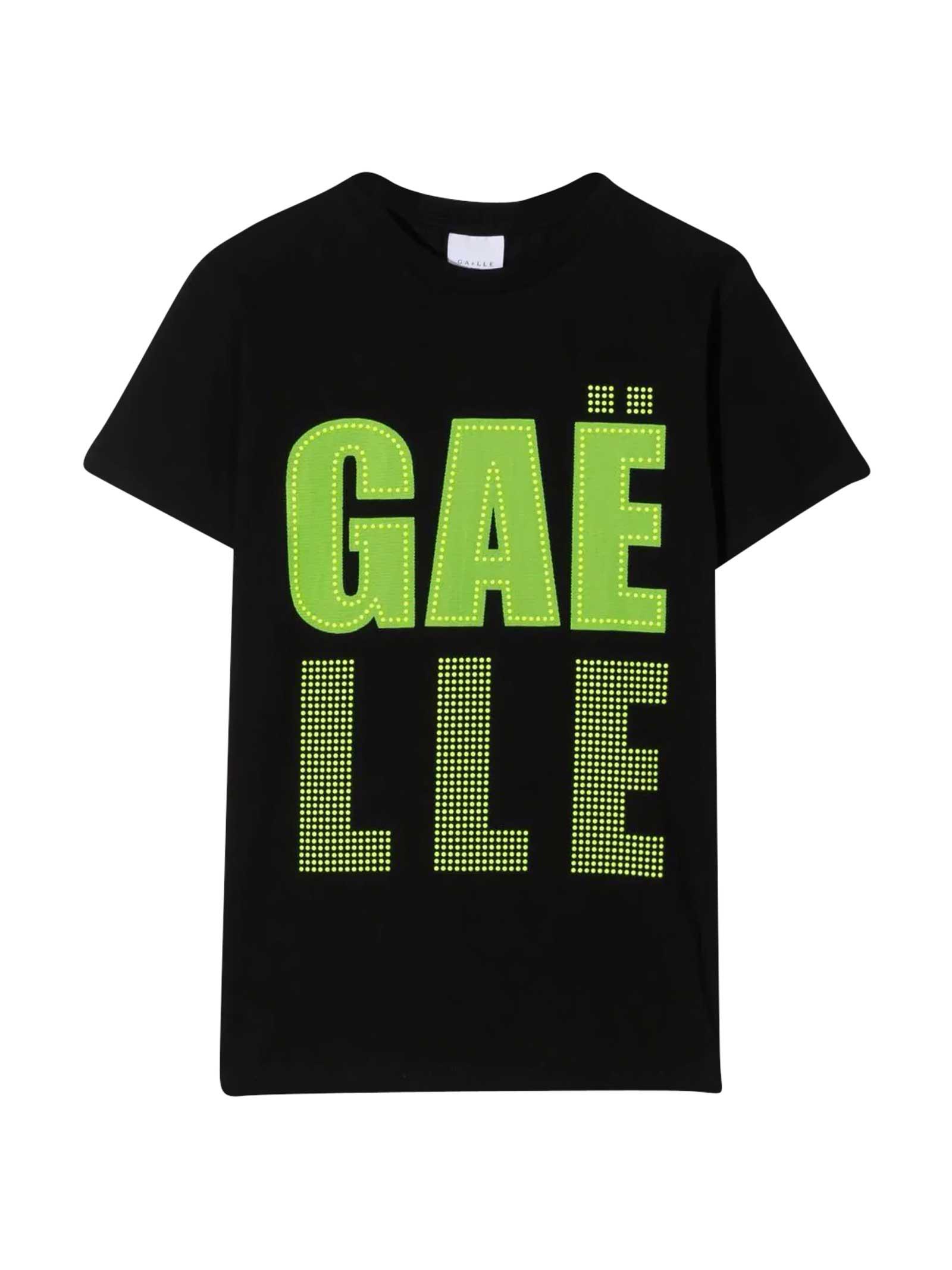Teen T-shirt With Rhinestone Logo