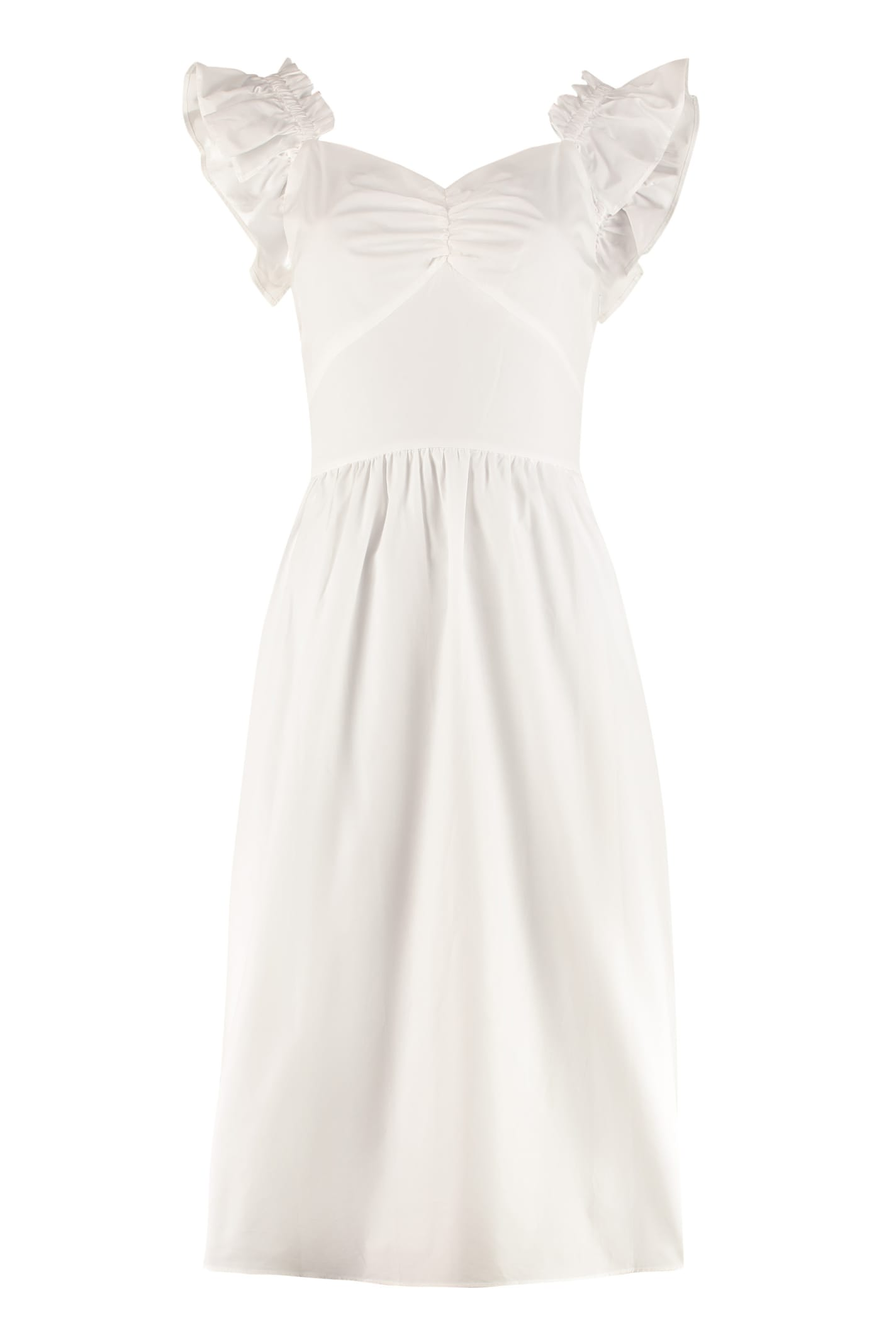 Buy MICHAEL Michael Kors Cotton Maxi Dress online, shop MICHAEL Michael Kors with free shipping