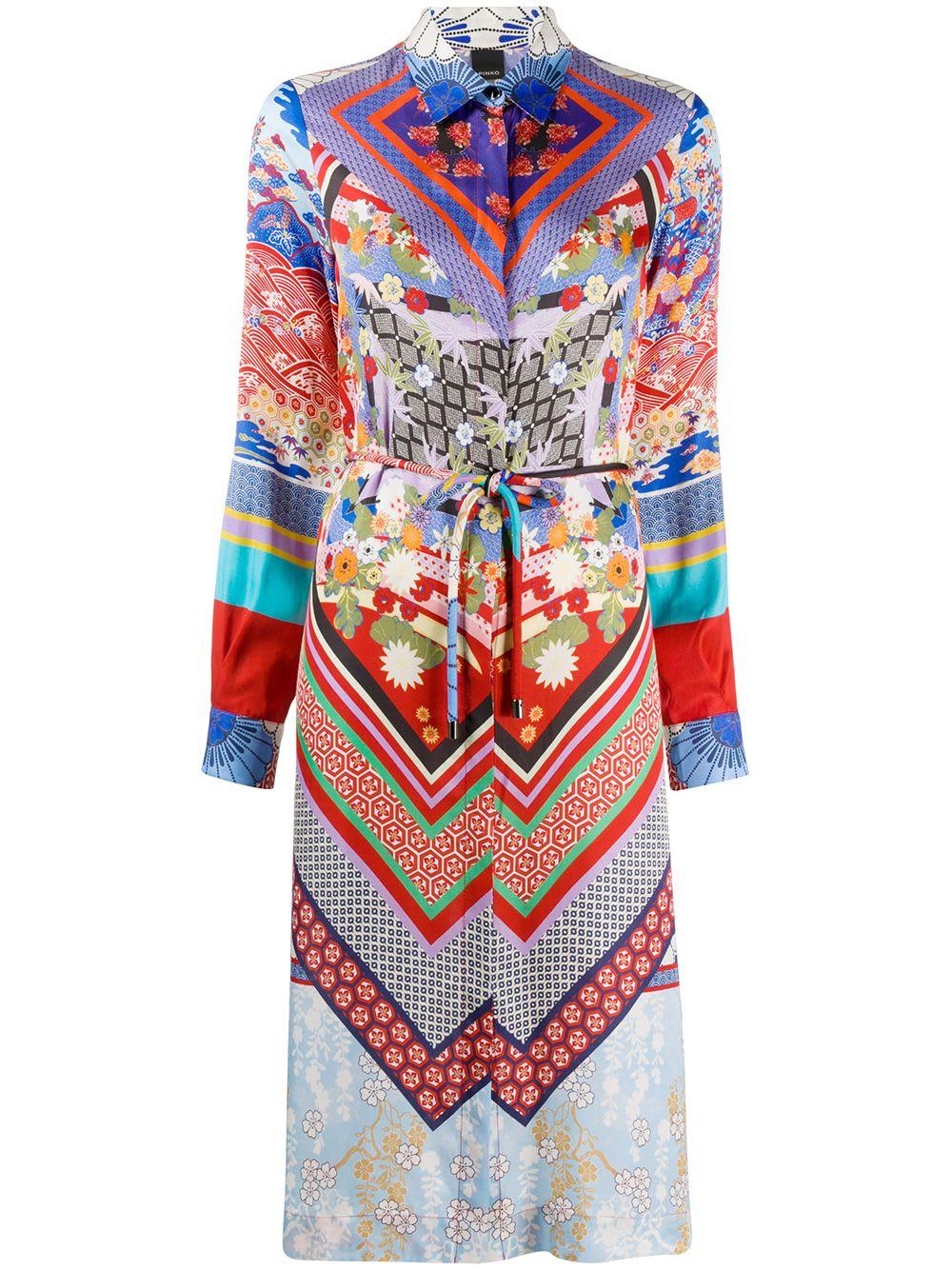 Buy Pinko Cinderella Shirt Dress online, shop Pinko with free shipping