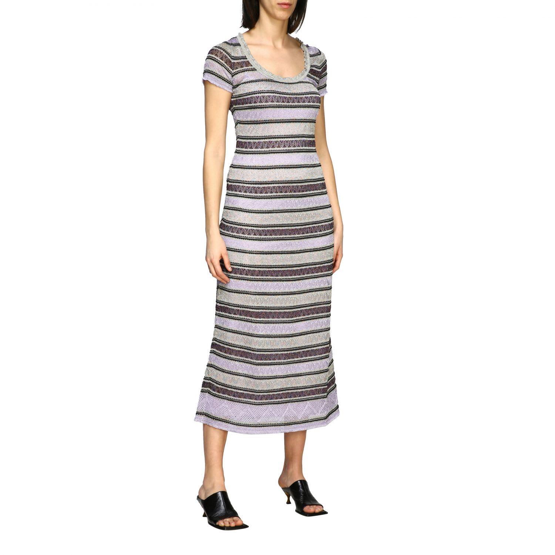 Buy M Missoni Dress M Missoni Maxi Dress In Lurex Jacquard online, shop M Missoni with free shipping