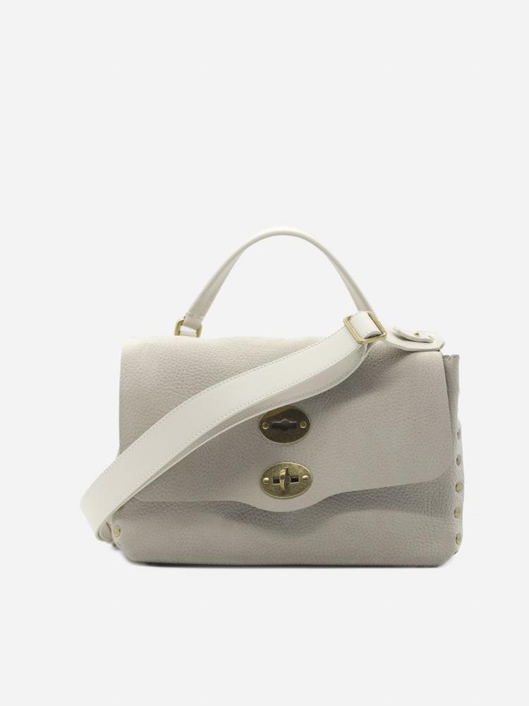 Zanellato Postina Bag S Jones White Tops In Leather
