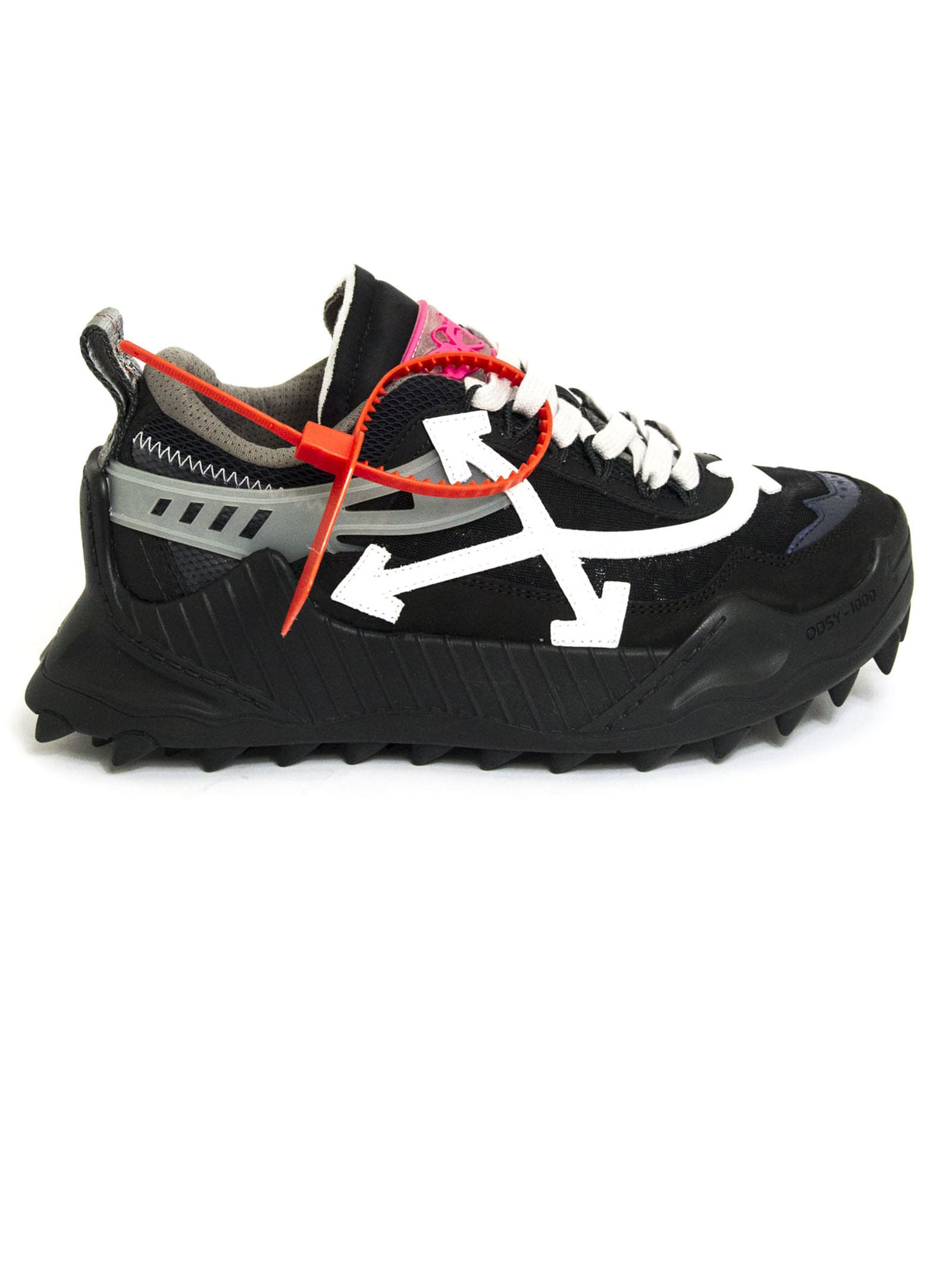 Black Odsy 1000 Chunky Sneakers