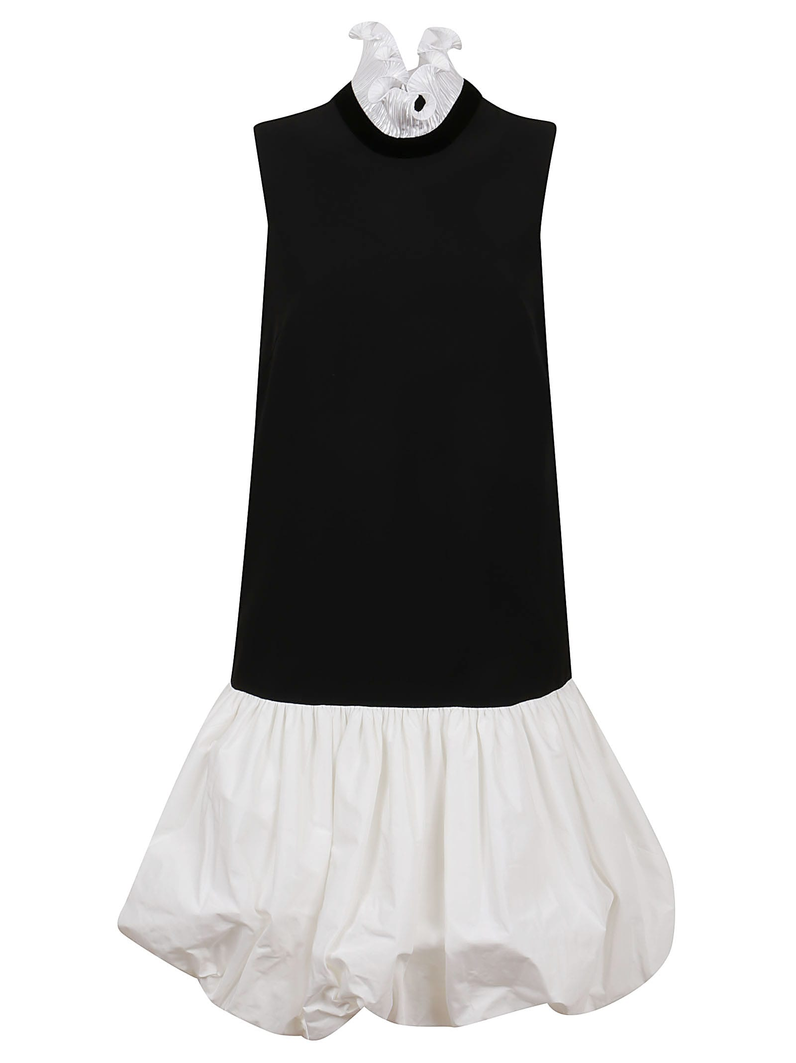 Buy Givenchy Two Tone Puffball Dress online, shop Givenchy with free shipping