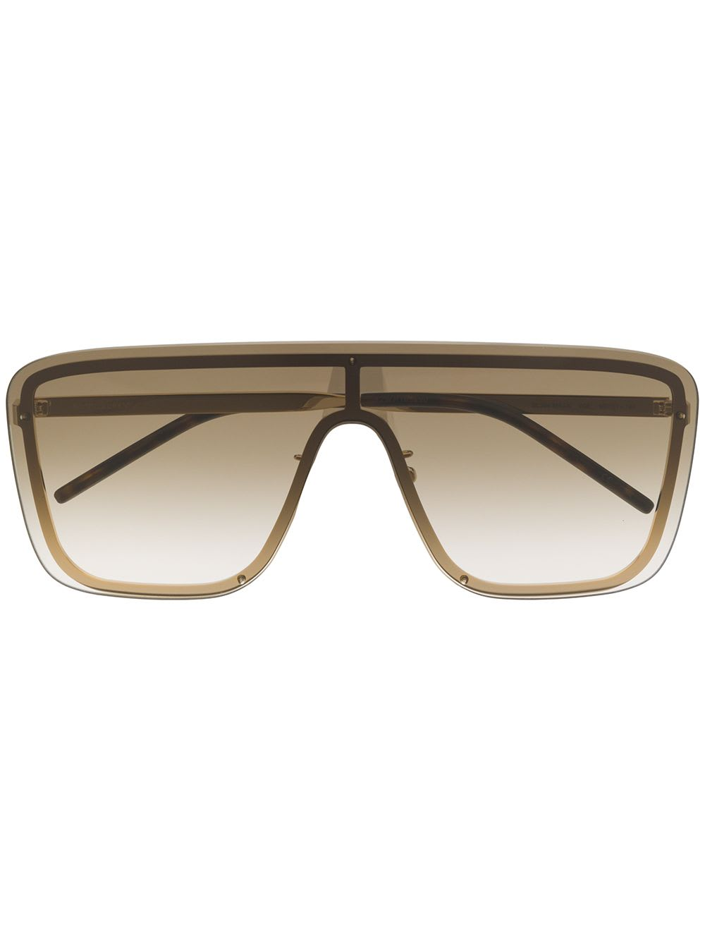 Brown Gold Woman Sl 364 Sunglasses
